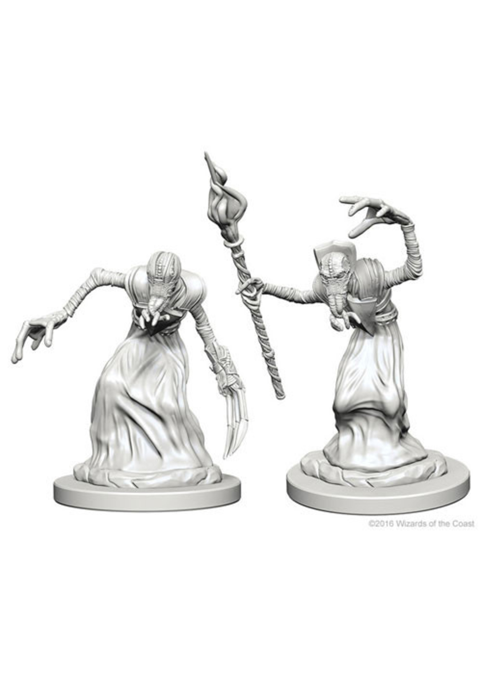 Dungeons & Dragons Nolzur`s Marvelous Unpainted Miniatures: W1 Mindflayers