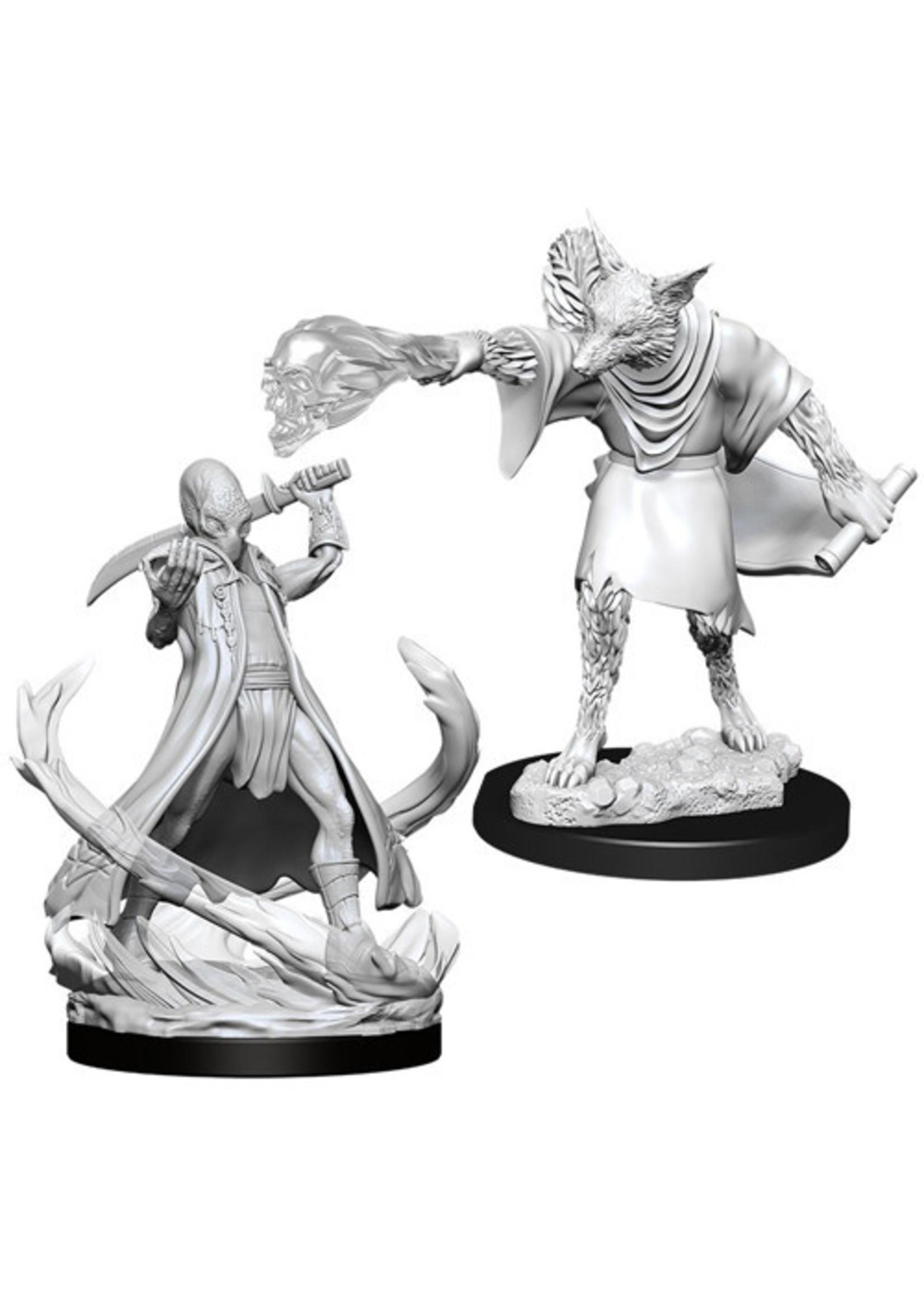 Dungeons & Dragons Nolzur`s Marvelous Unpainted Miniatures: W11 Arcanaloth & Ultroloth