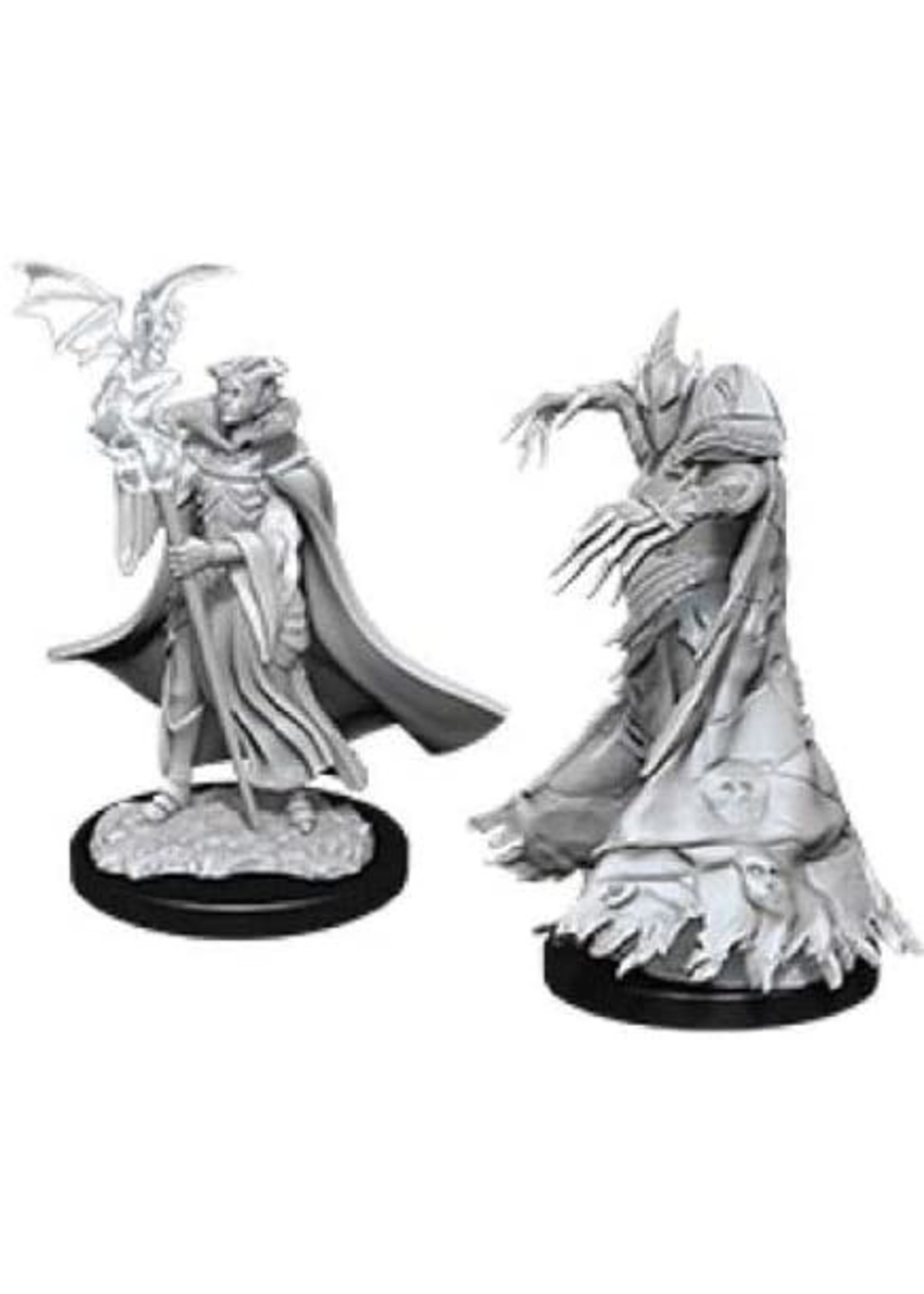 Pathfinder Deep Cuts Unpainted Miniatures: W12 Cultist & Devil