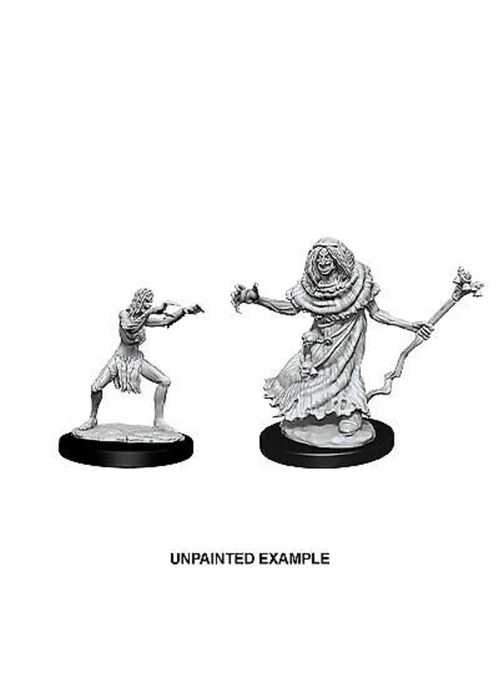 Dungeons & Dragons Nolzur`s Marvelous Unpainted Miniatures: W12 Sea Hag & Bheur Hag