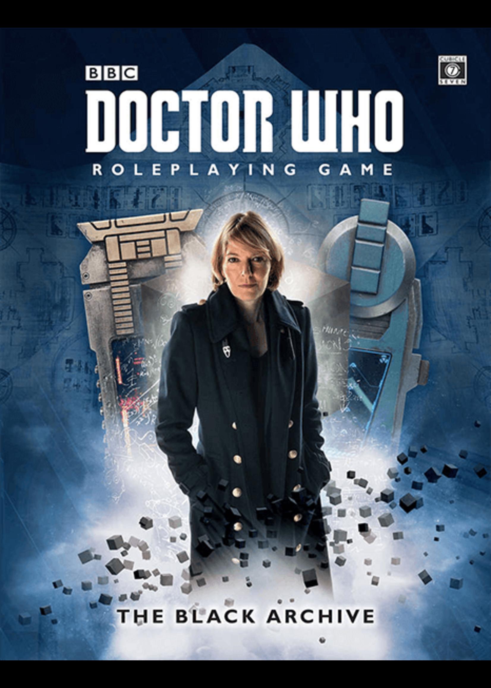 Dr. Who RPG: Black Archive