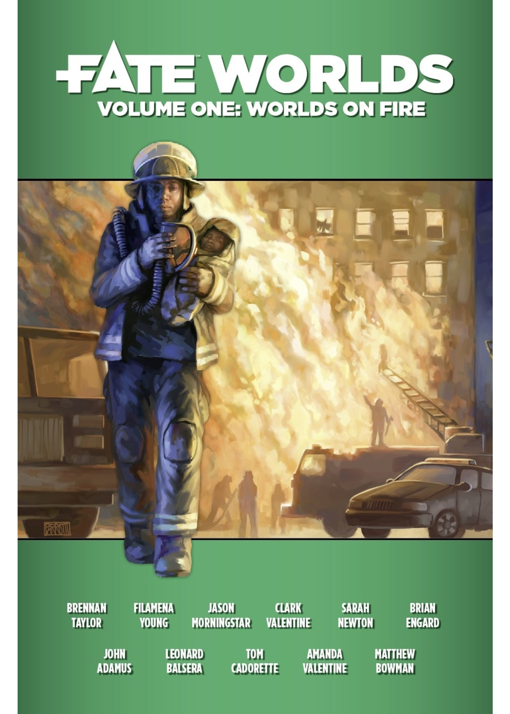 Fate Worlds: Vol 1: Worlds on Fire