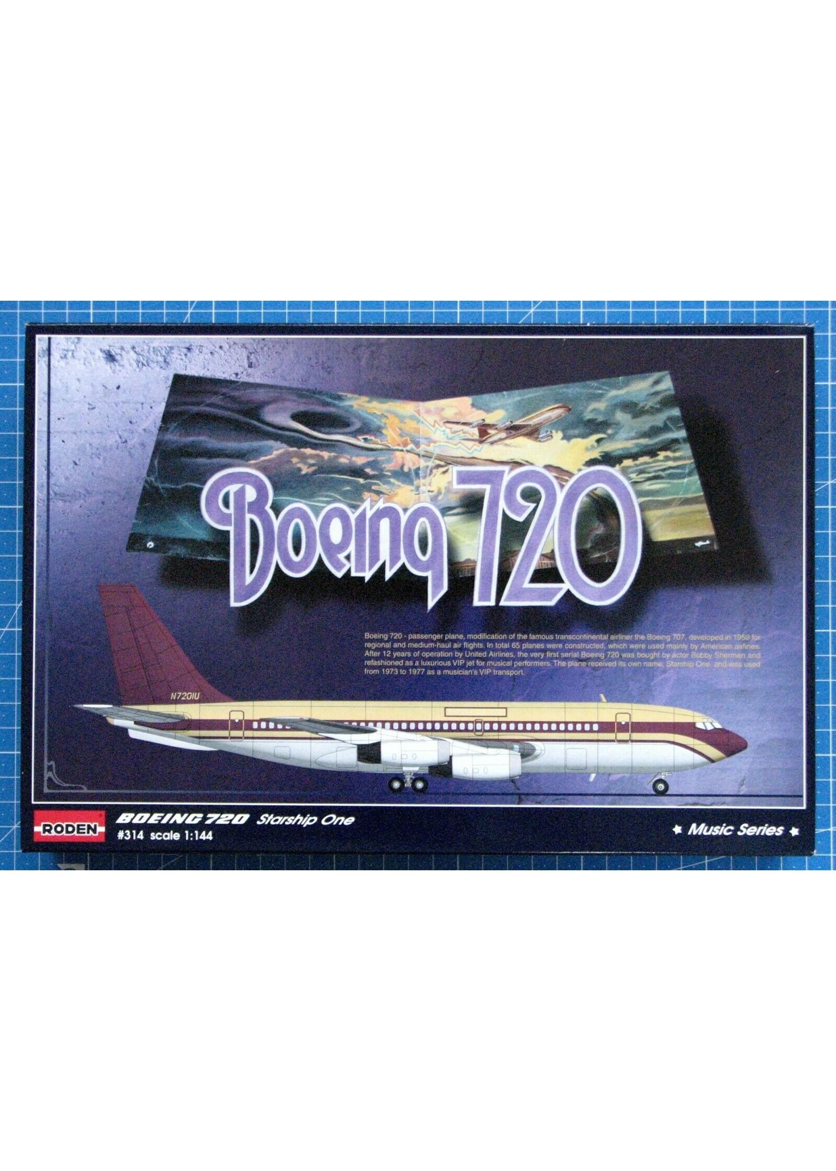Model Kit: 1/144 Boeing 720 Starship One