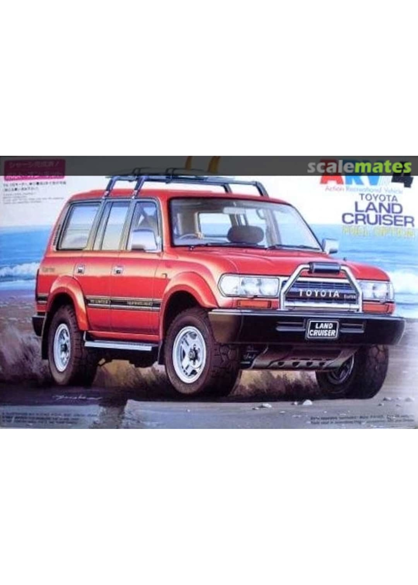 Model Kit: 1/24 ARV4 Toyota Land Cruiser - Full Option