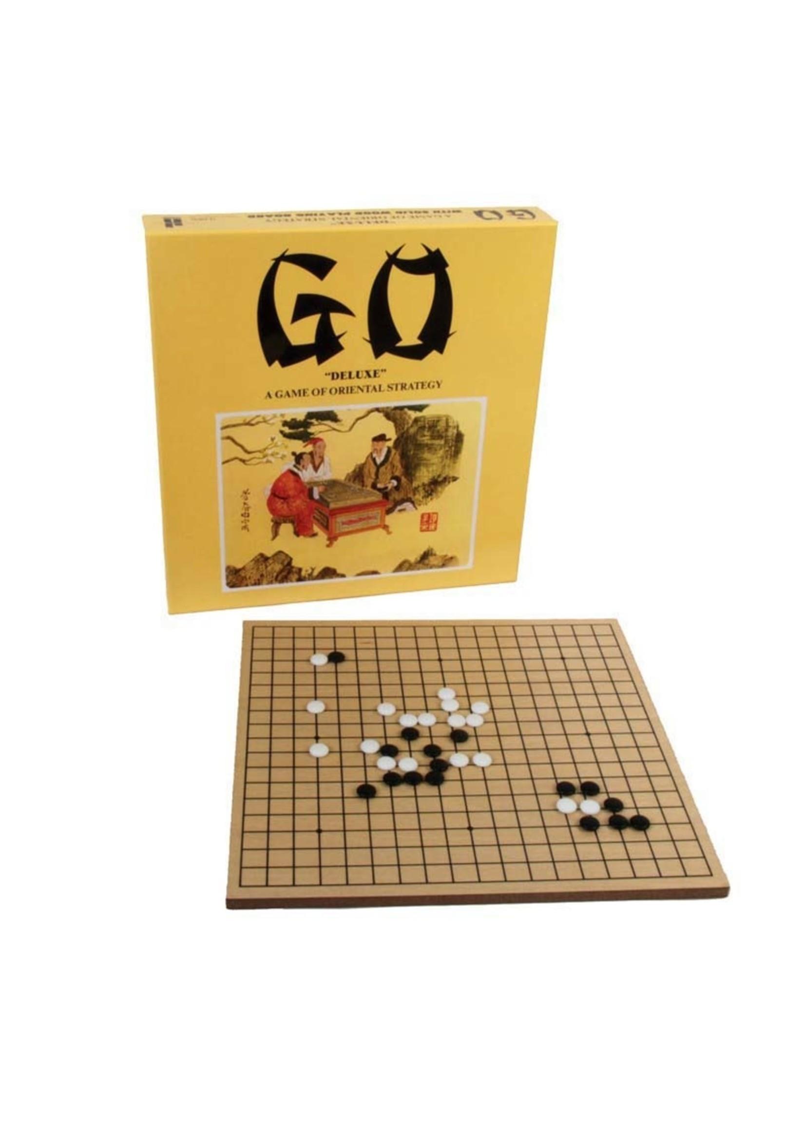 GO GAME W/WOOD BOARD