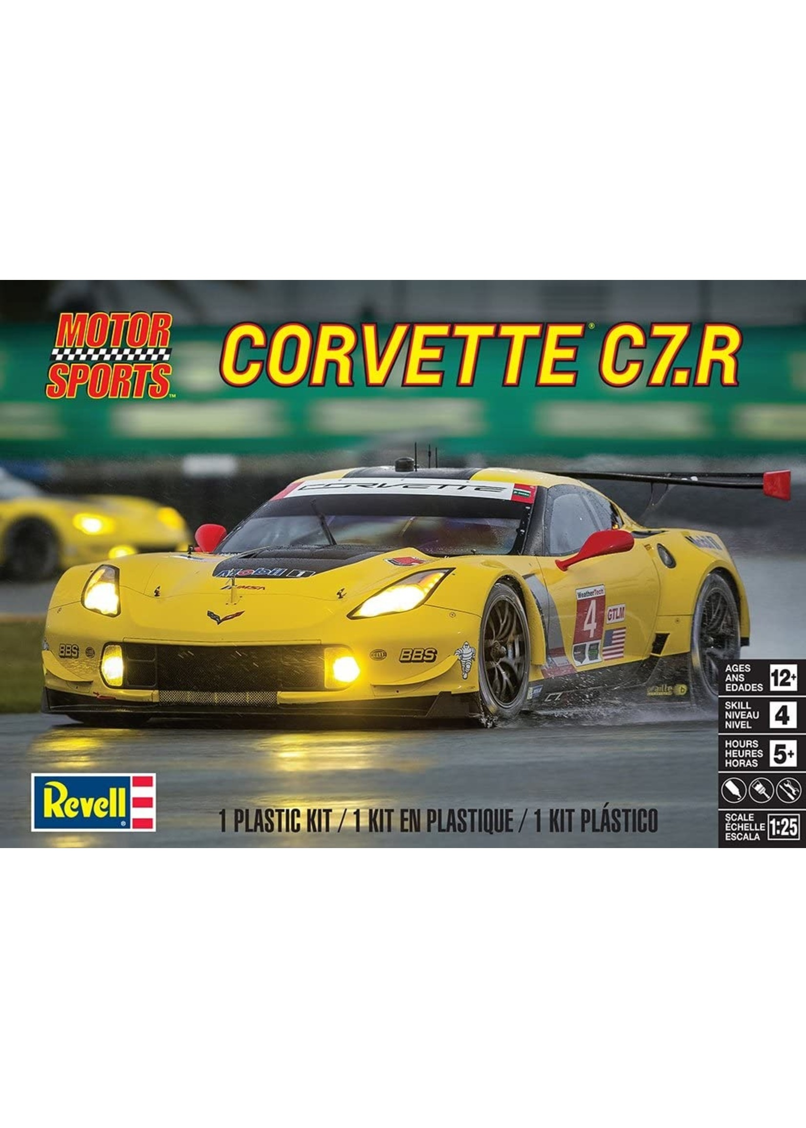 Model Kit: 1/25 Chevrolet Corvette C7.R