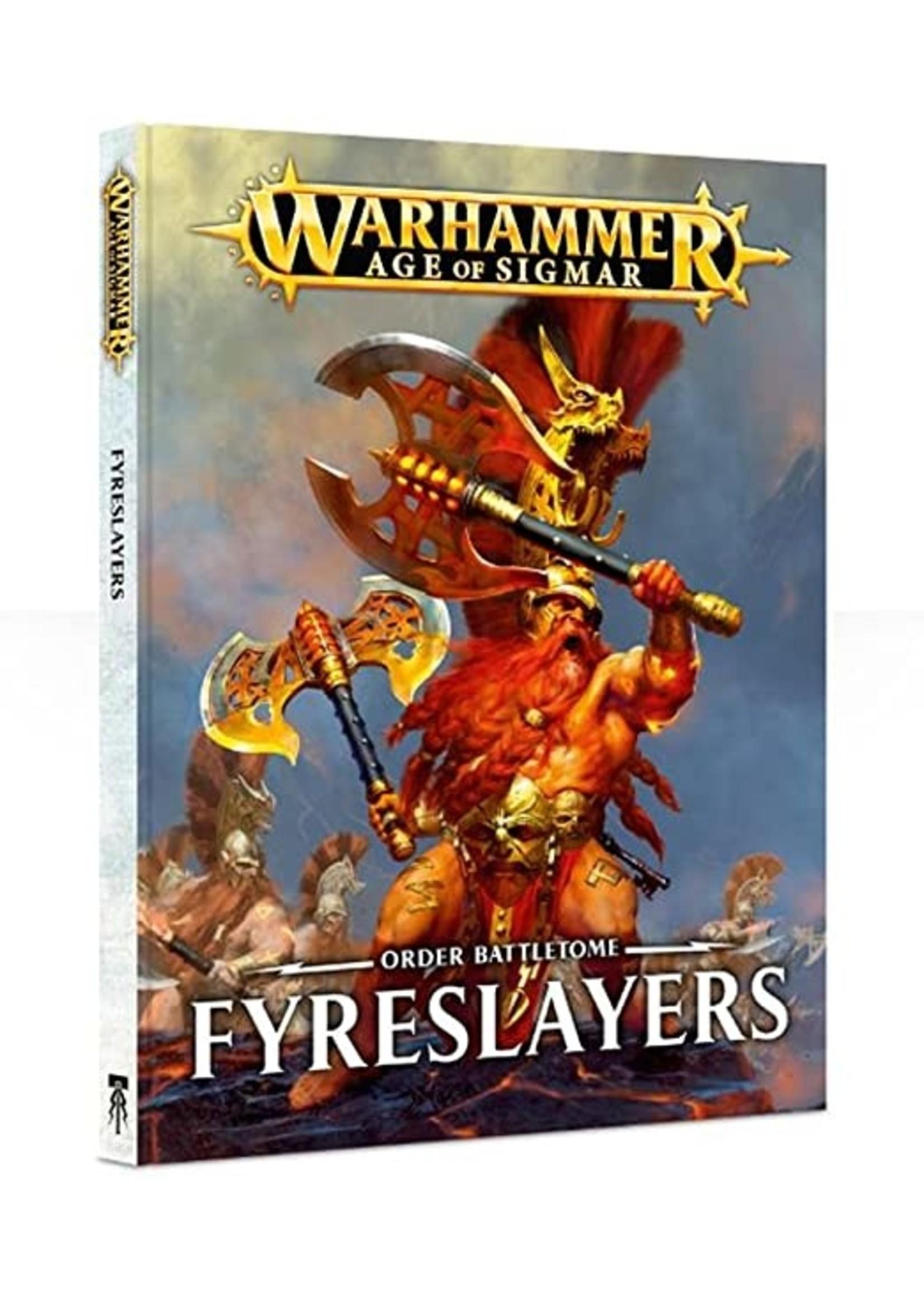 Warhammer Age of Sigmar: Order Battletome - Fyreslayers (Hardcover)