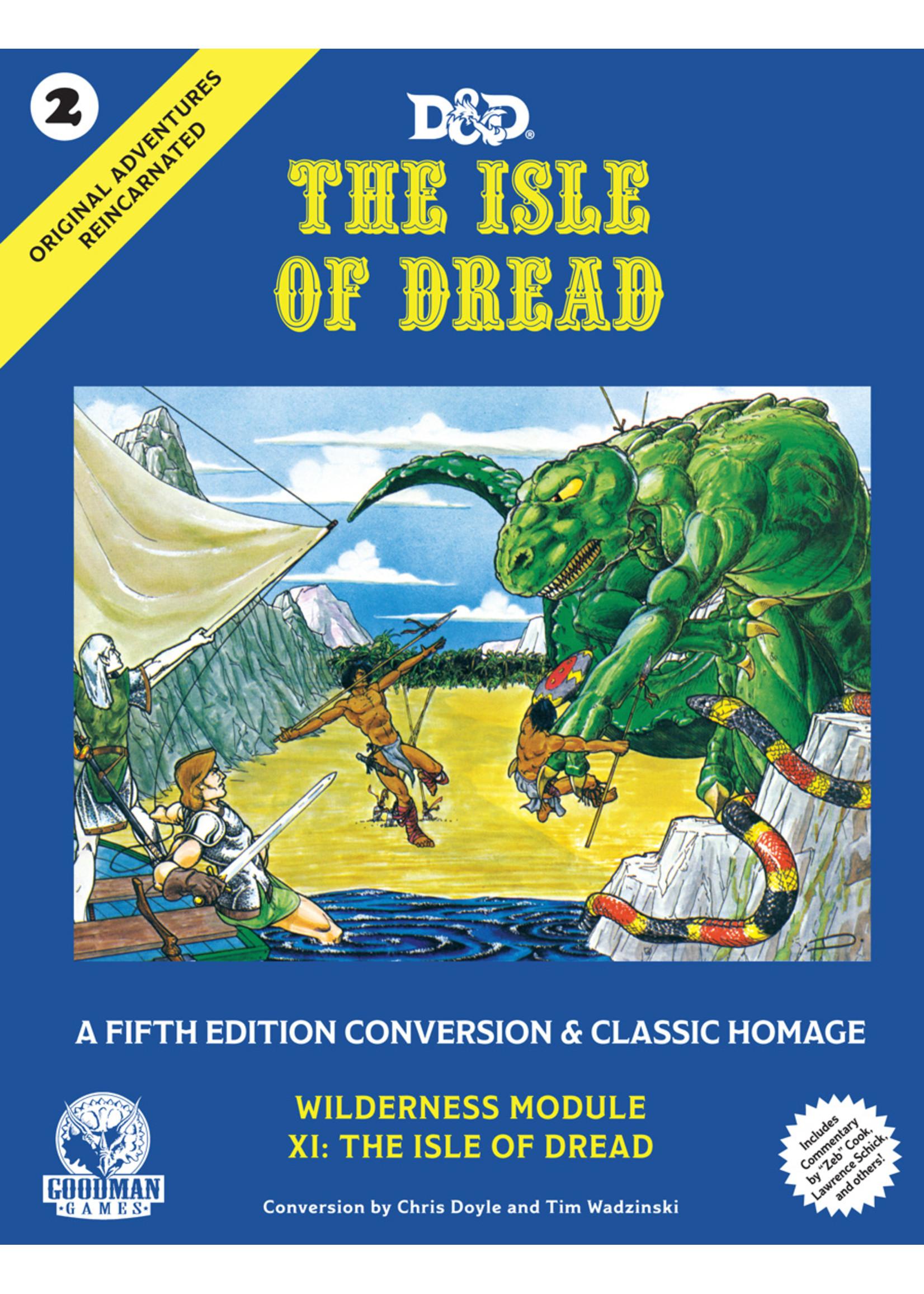 D&D 5E: OAR #2: The Isle of Dread