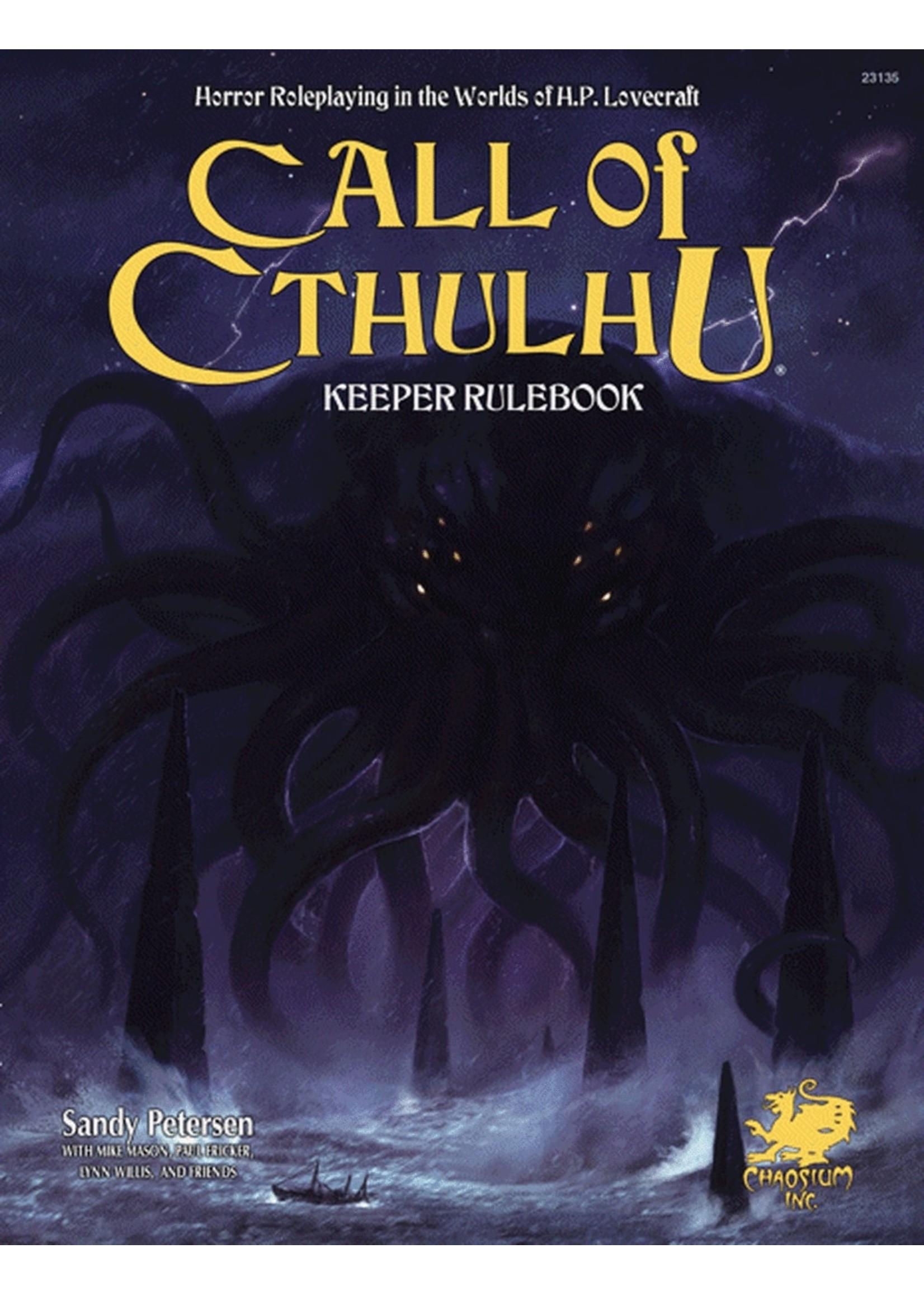 Call of Cthulhu 7th Ed