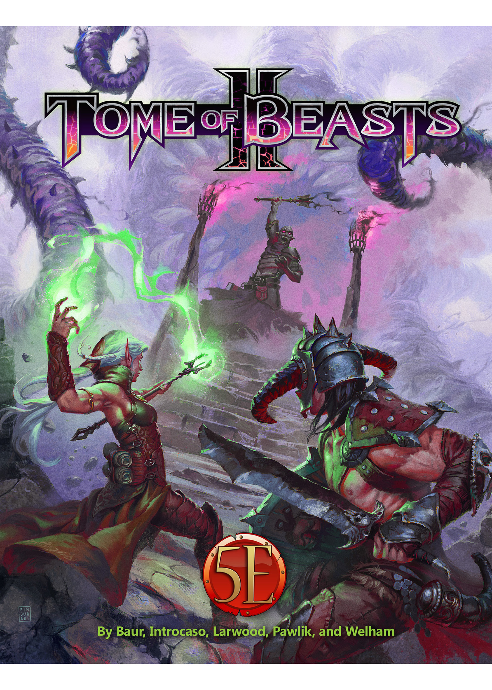 Dungeons and Dragons RPG: Tome of Beasts 2 Hardcover