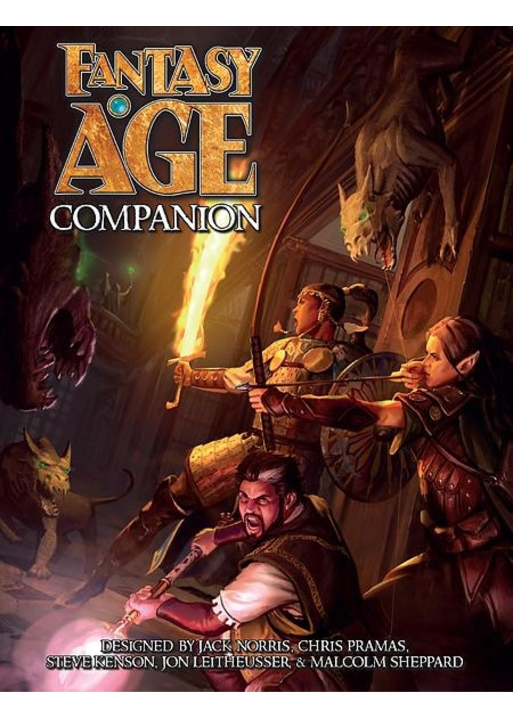 Fantasy AGE RPG: Companion Hardcover