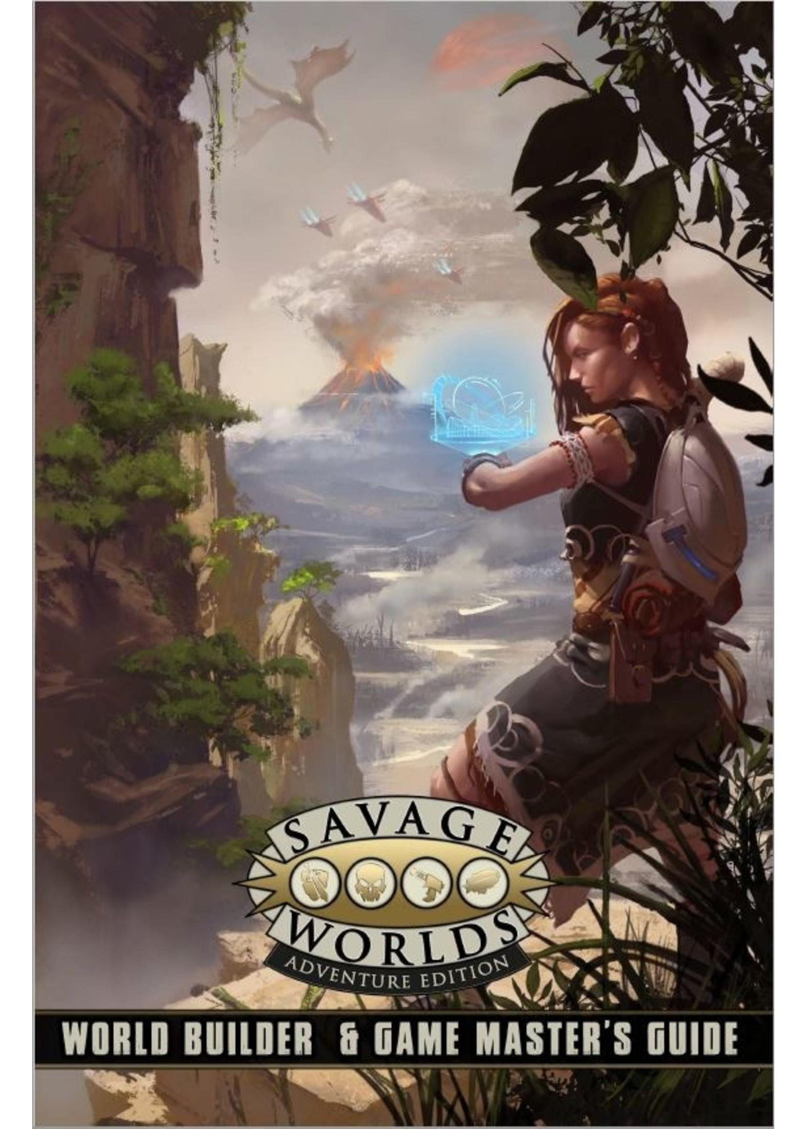 Savage Worlds RPG: World Builder & Game Master`s Guide