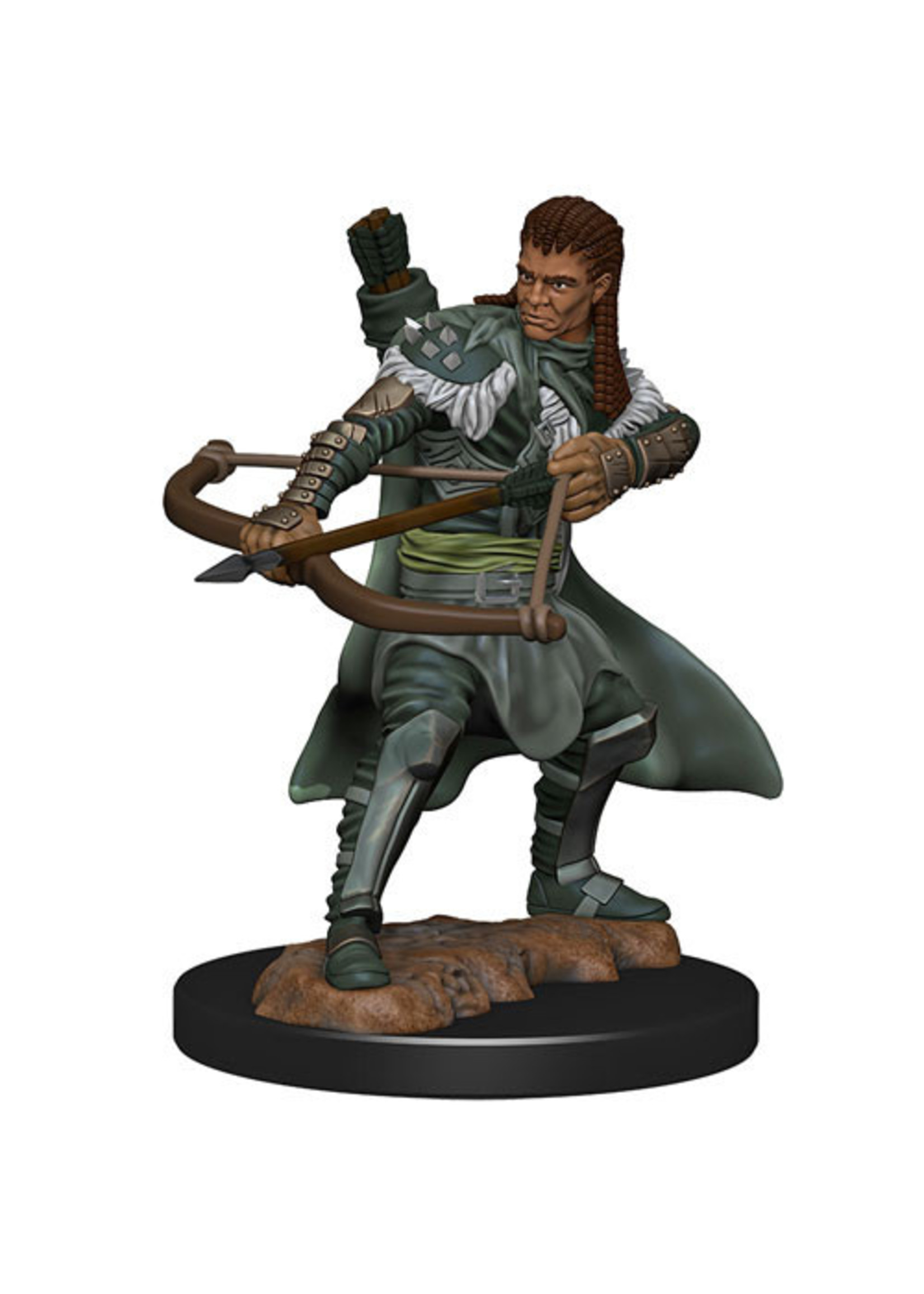 Dungeons & Dragons Fantasy Miniatures: Icons of the Realms Premium Figures W4 Human Ranger Male