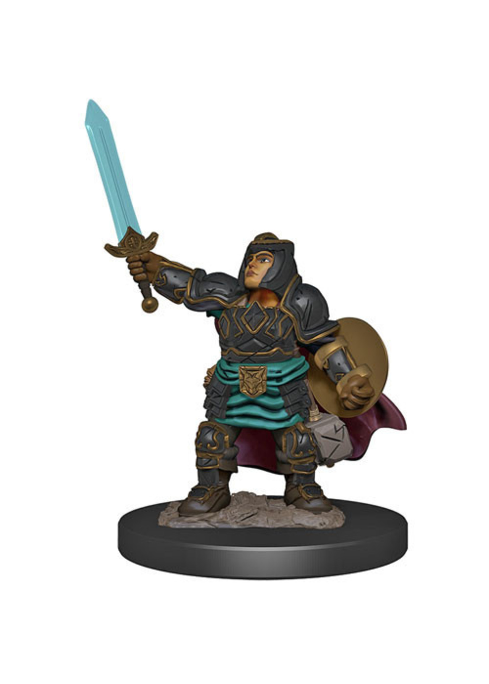 Dungeons & Dragons Fantasy Miniatures: Icons of the Realms Premium Figures W4 Dwarf Paladin Female