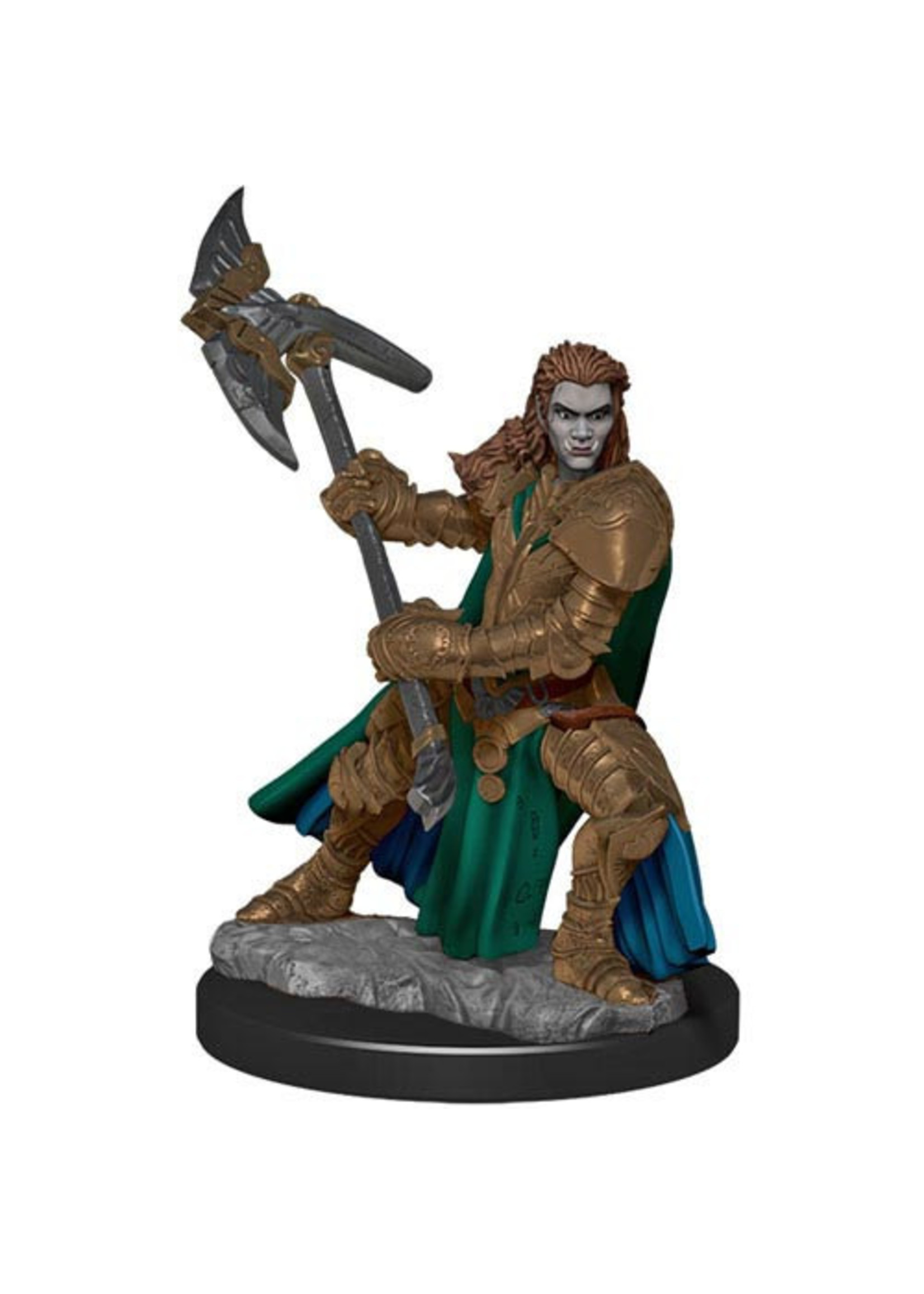 Dungeons & Dragons Fantasy Miniatures: Icons of the Realms Premium Figures W4 Half-Orc Fighter Female