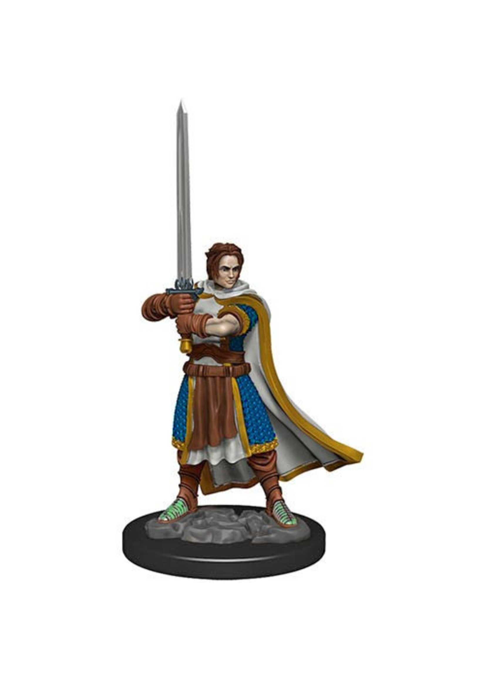 Dungeons & Dragons Fantasy Miniatures: Icons of the Realms Premium Figures W4 Human Cleric Male