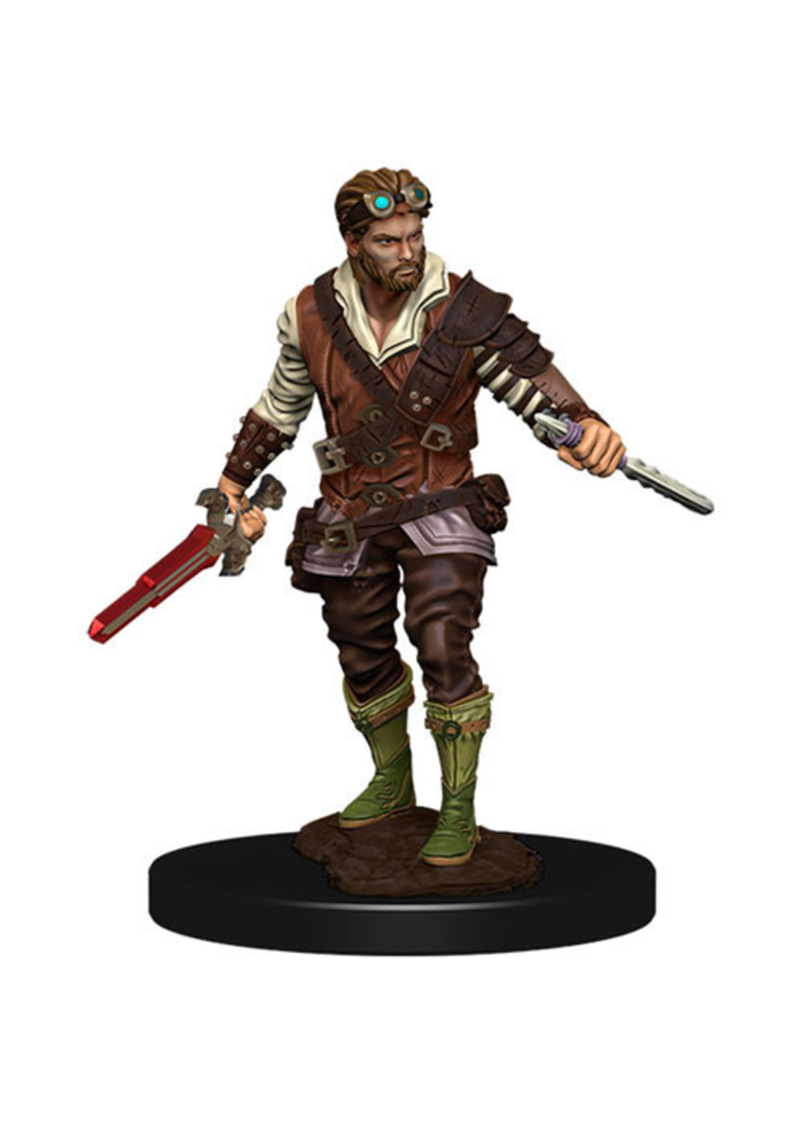 Dungeons & Dragons Fantasy Miniatures: Icons of the Realms Premium Figures W4 Human Rogue Male