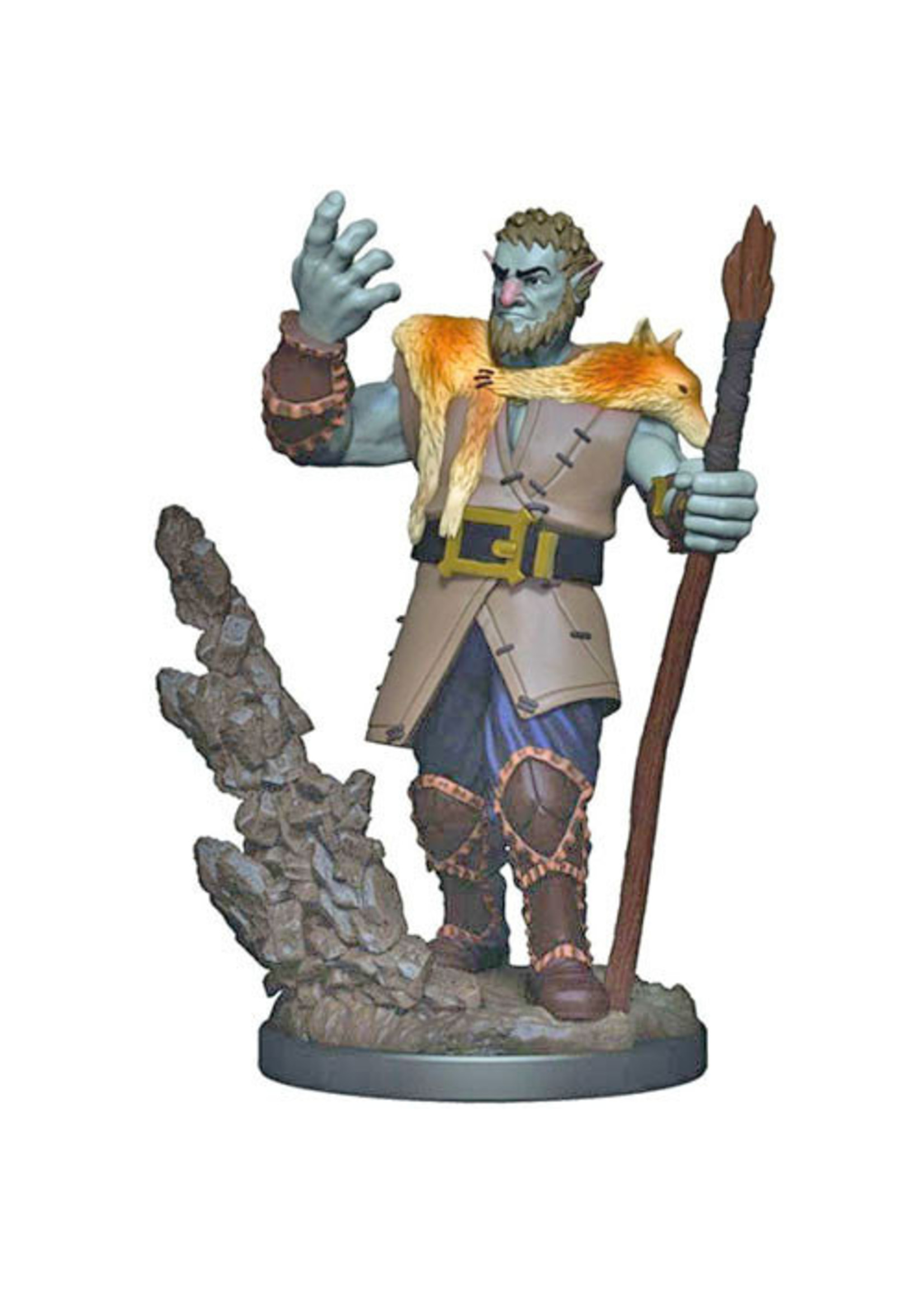 Dungeons & Dragons Fantasy Miniatures: Icons of the Realms Premium Figures W3 Firbolg Male Druid