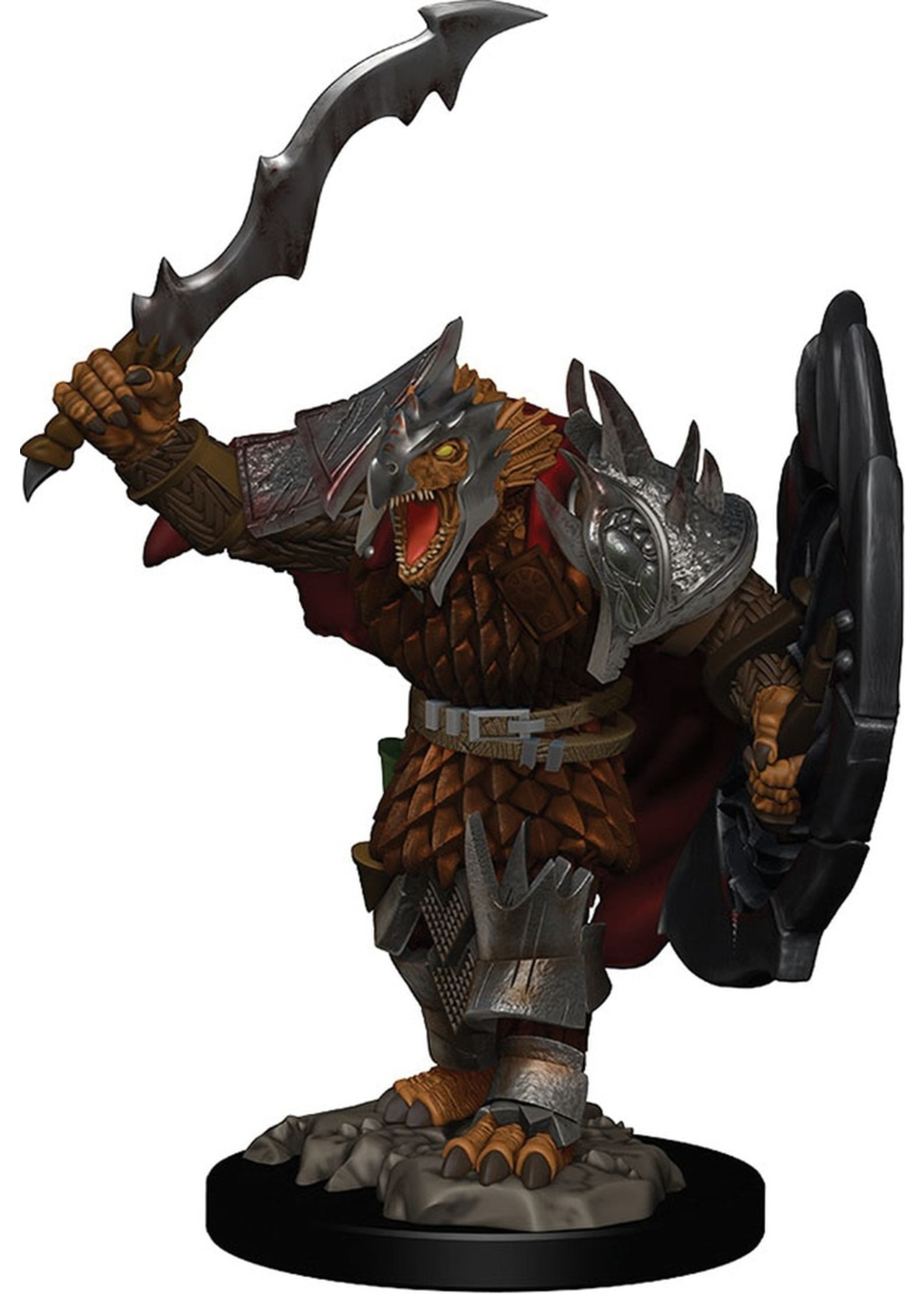Dungeons & Dragons Icons of the Realms Premium Figures: W1 Dragonborn Male Fighter
