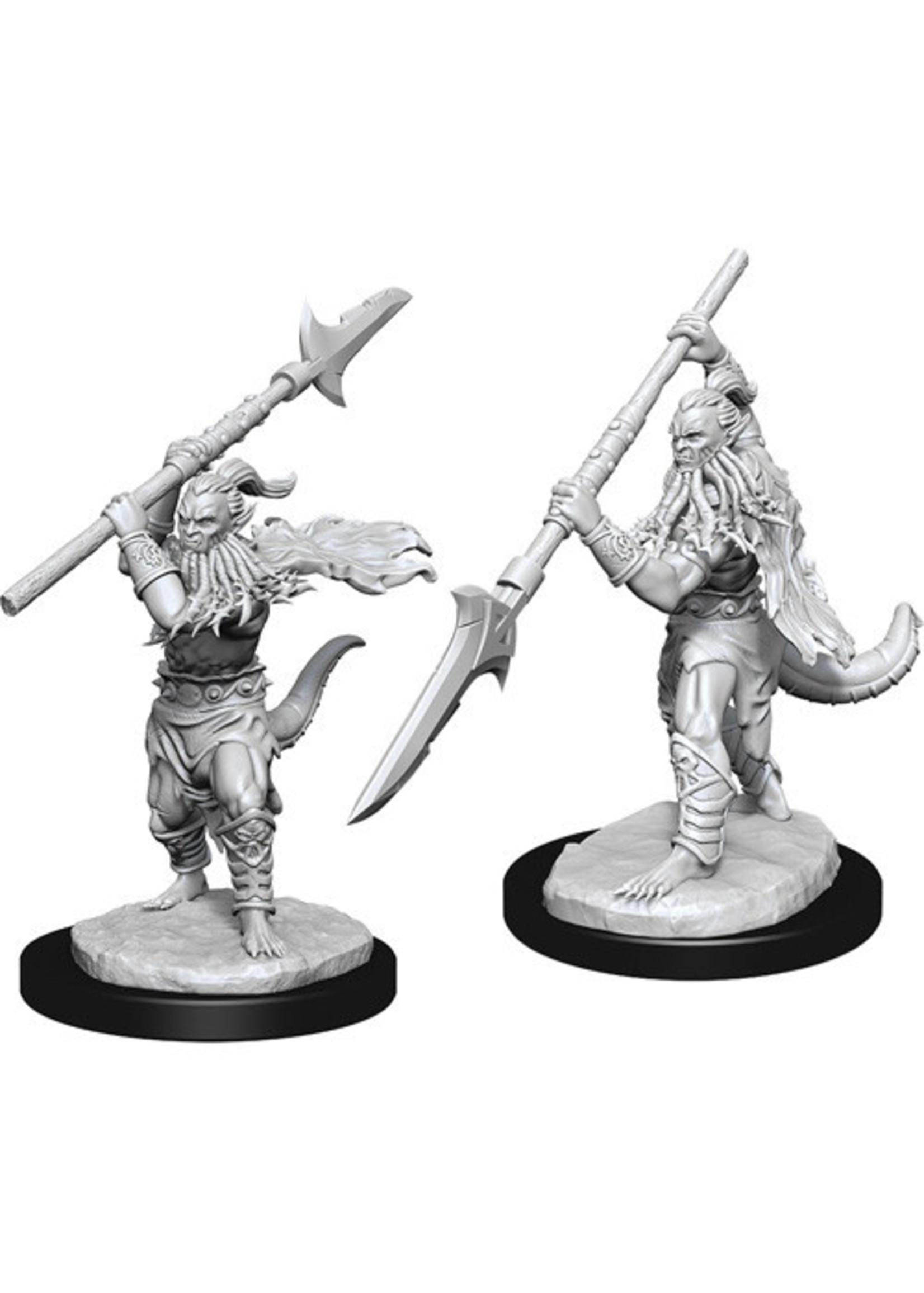Dungeons & Dragons Nolzur`s Marvelous Unpainted Miniatures: W13 Bearded Devils