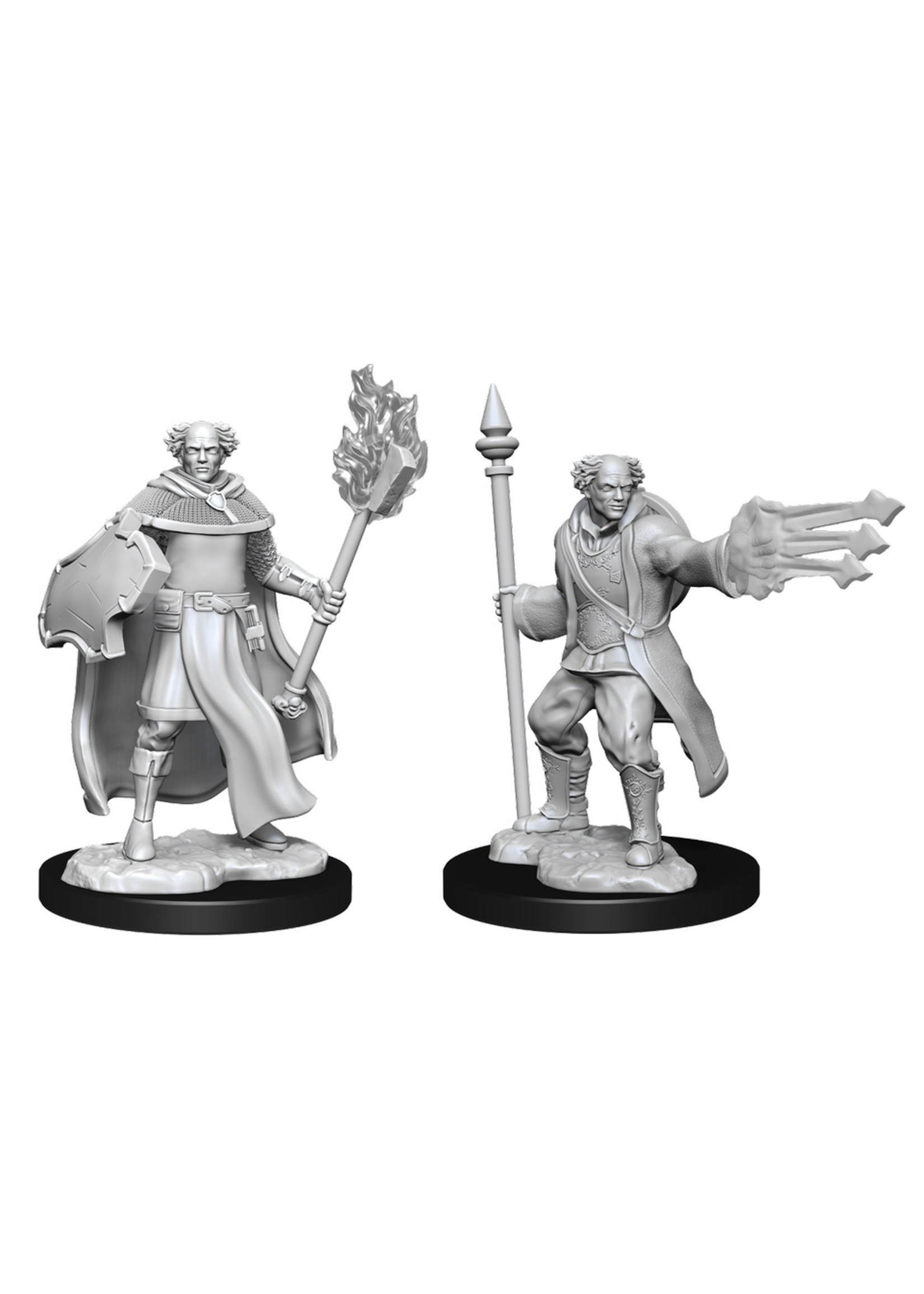 Dungeons & Dragons Nolzur`s Marvelous Unpainted Miniatures: W13 Multiclass Cleric + Wizard Male