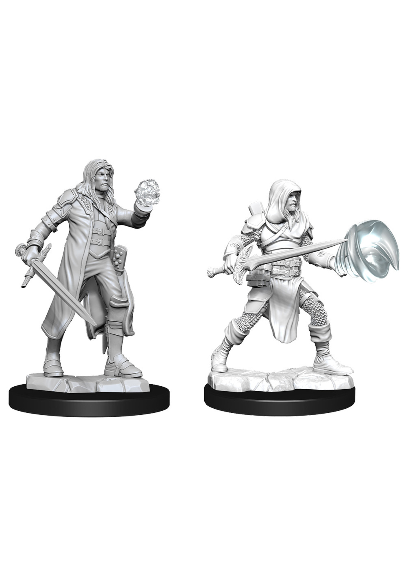 Dungeons & Dragons Nolzur`s Marvelous Unpainted Miniatures: W13 Multiclass Fighter + Wizard Male