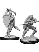 Dungeons & Dragons Nolzur`s Marvelous Unpainted Miniatures: W13 Warforged Fighter Male