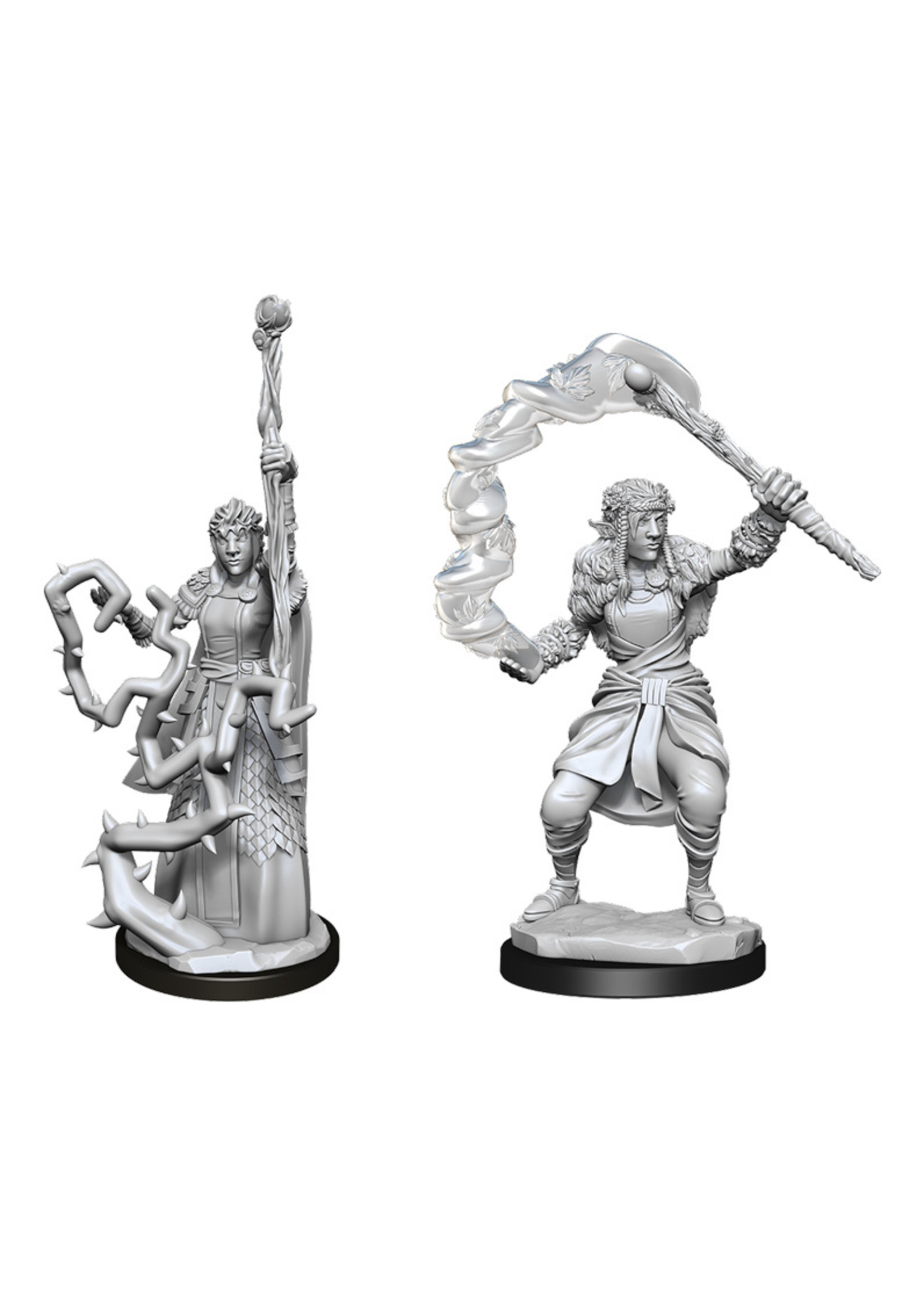 Dungeons & Dragons Nolzur`s Marvelous Unpainted Miniatures: W13 Firbolg Druid Female