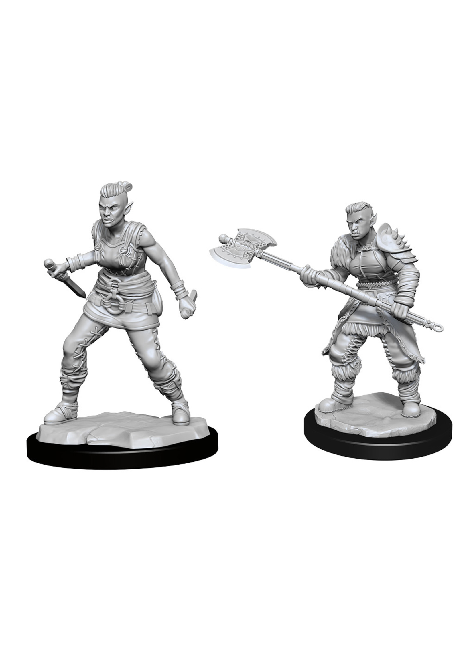 Dungeons & Dragons Nolzur`s Marvelous Unpainted Miniatures: W13 Orc Barbarian Female