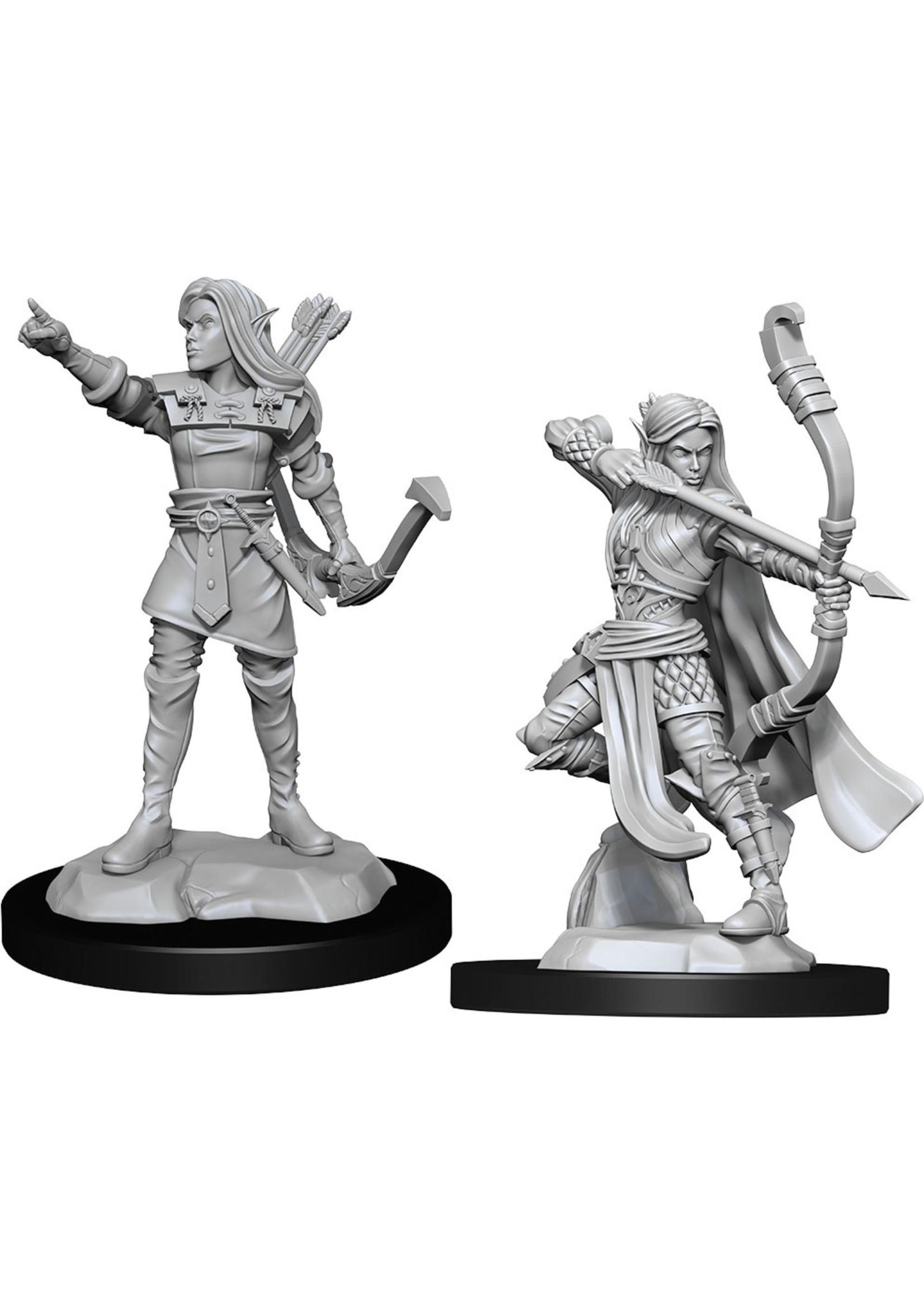 Dungeons & Dragons Nolzur`s Marvelous Unpainted Miniatures: W13 Elf Ranger Female