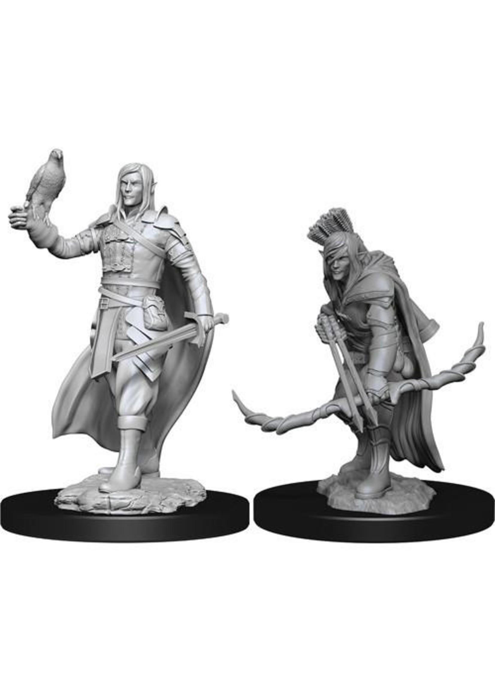 Dungeons & Dragons Nolzur`s Marvelous Unpainted Miniatures: W13 Elf Ranger Male