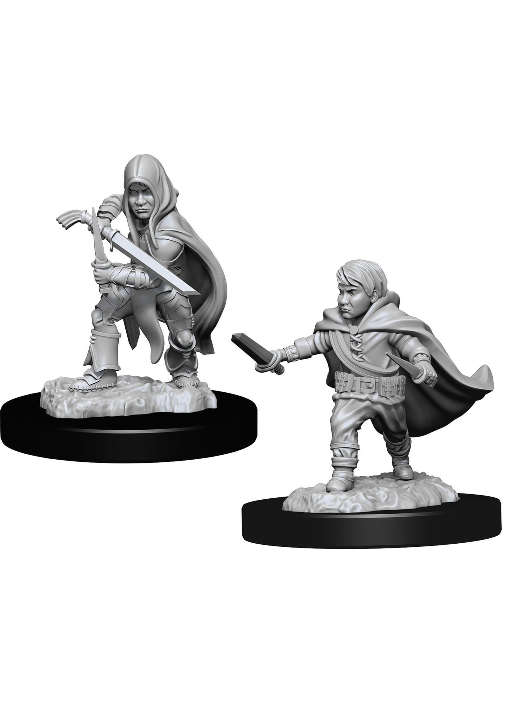 Dungeons & Dragons Nolzur`s Marvelous Unpainted Miniatures: W13 Halfling Rogue Male