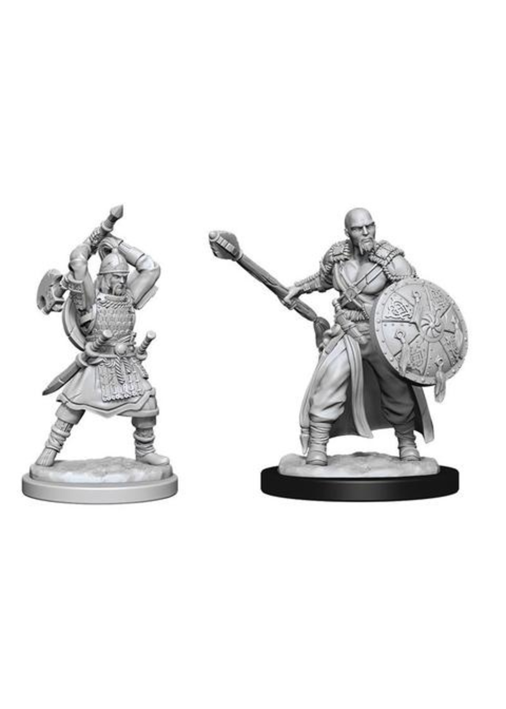 Dungeons & Dragons Nolzur`s Marvelous Unpainted Miniatures: W13 Human Barbarian Male