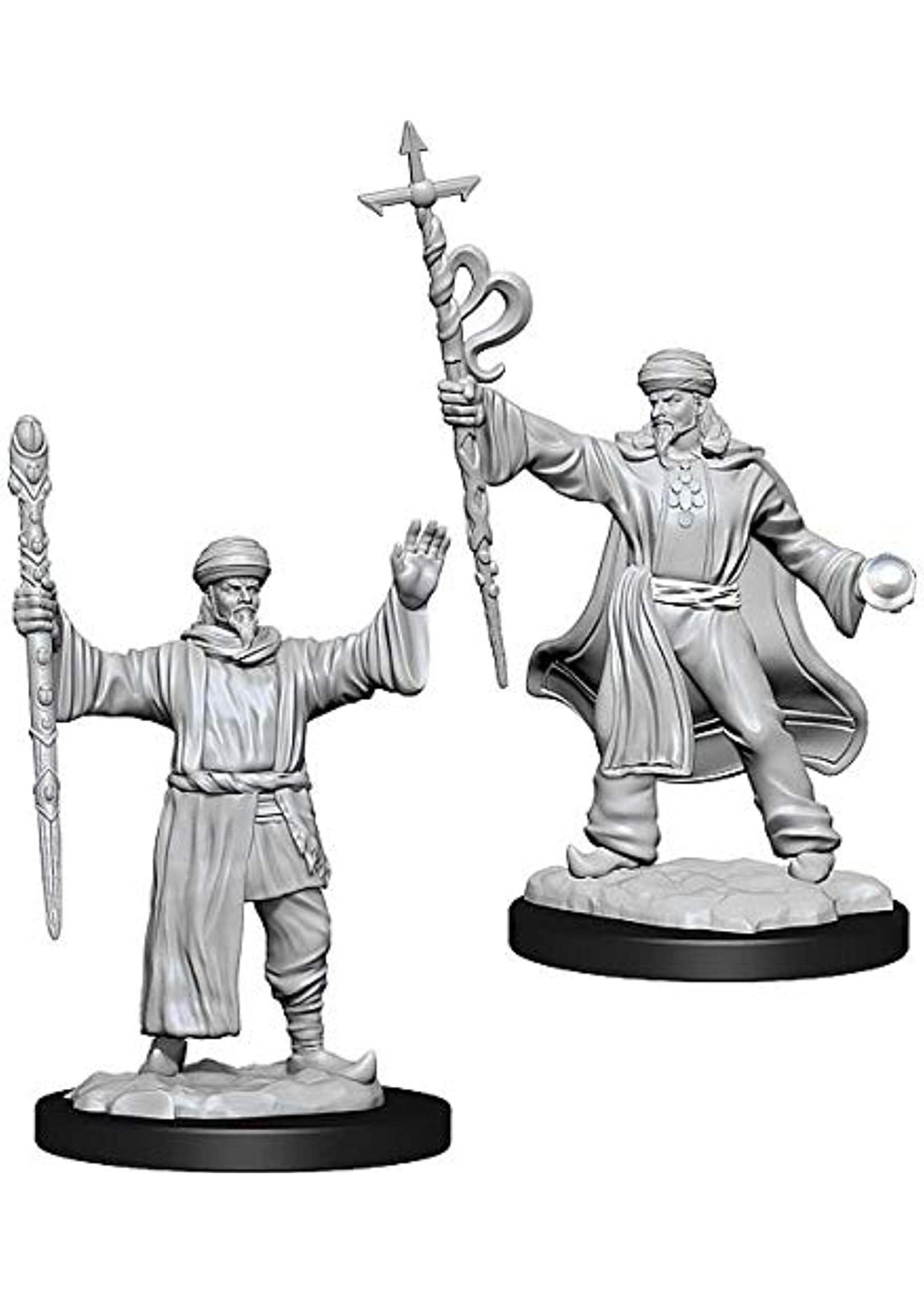 Dungeons & Dragons Nolzur`s Marvelous Unpainted Miniatures: W13 Human Wizard Male