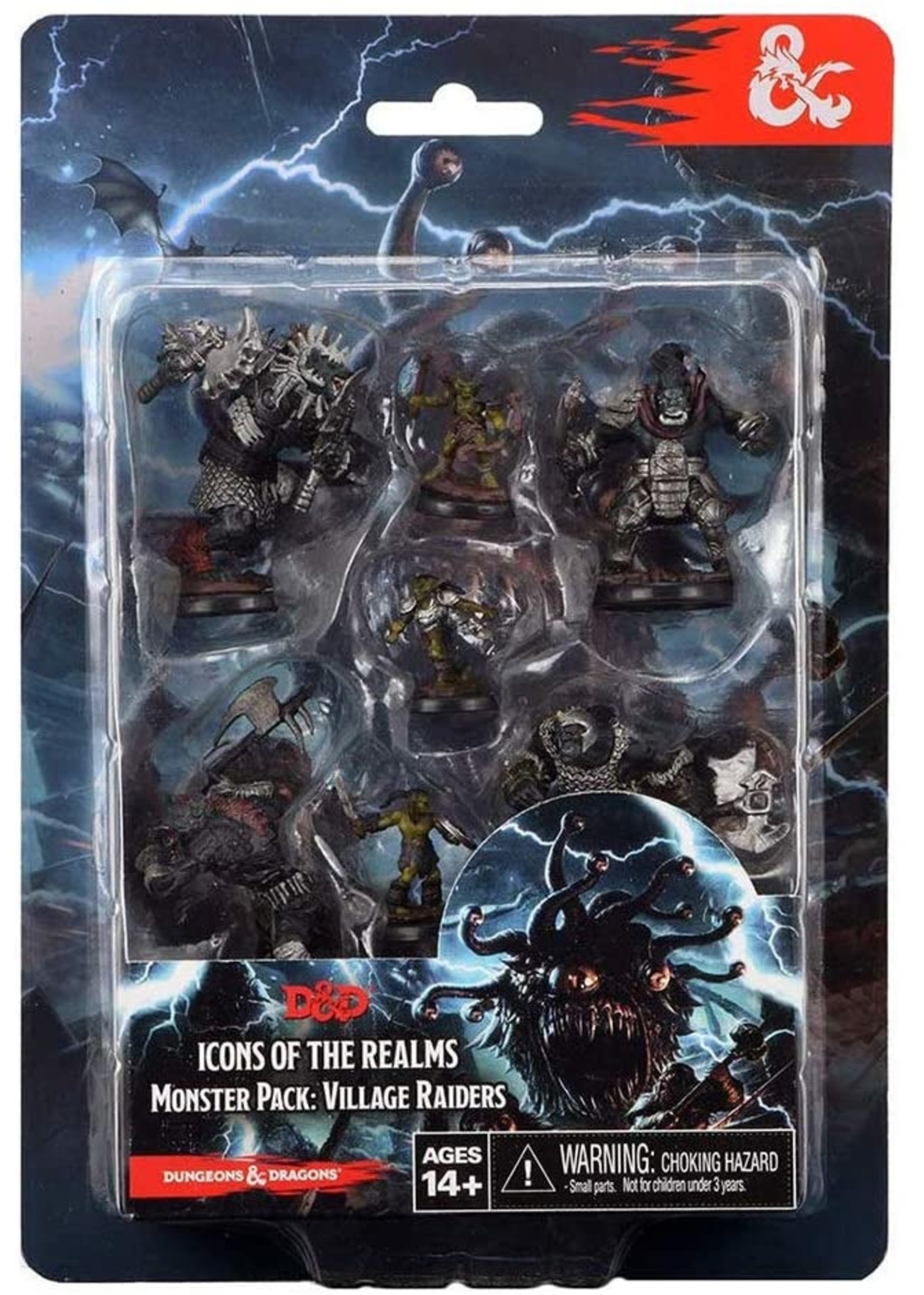 Dungeons & Dragons Fantasy Miniatures: Icons of the Realms Monster Pack - Village Raiders