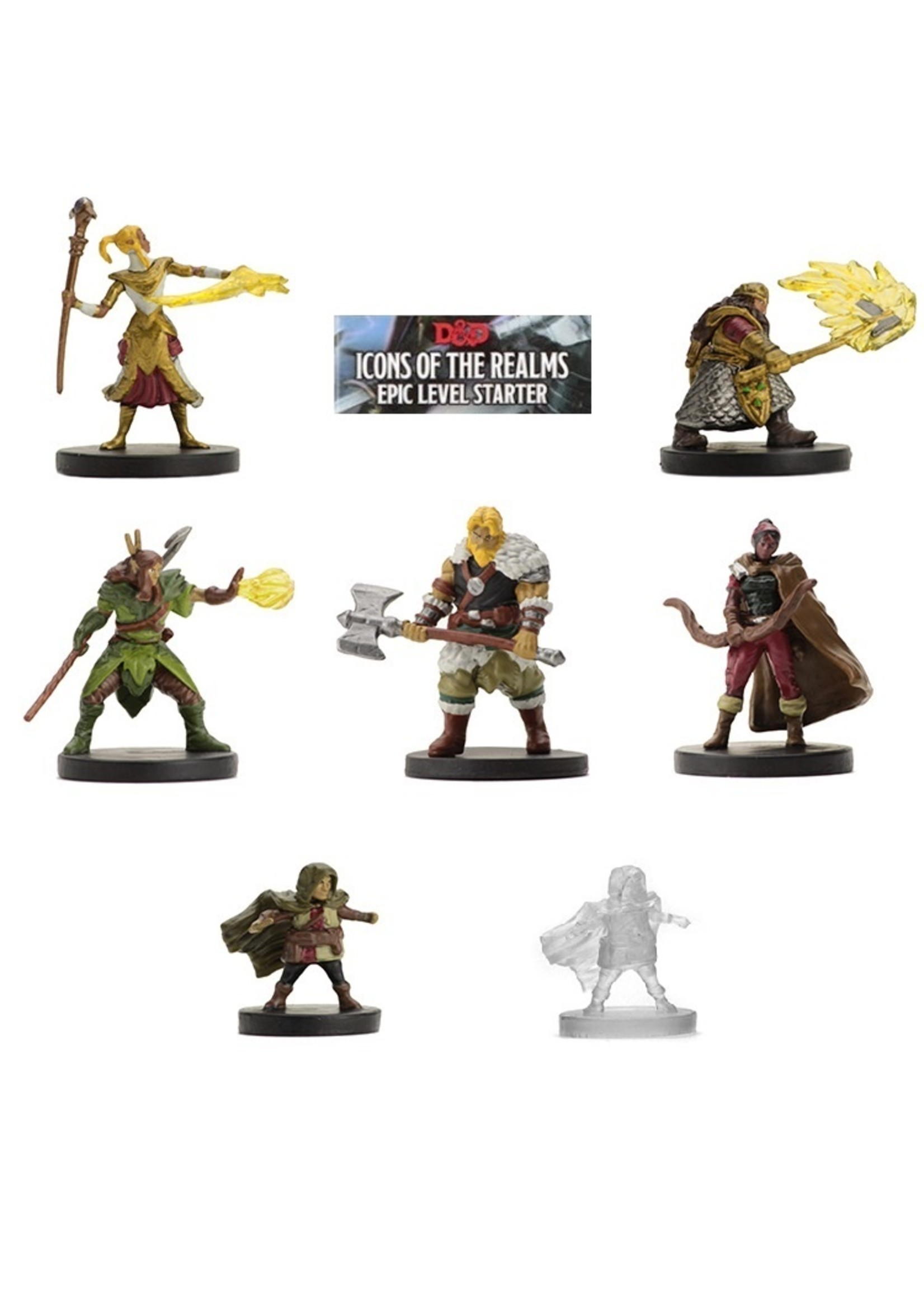 Dungeons & Dragons Fantasy Miniatures: Icons of the Realms Epic Level Starter Set