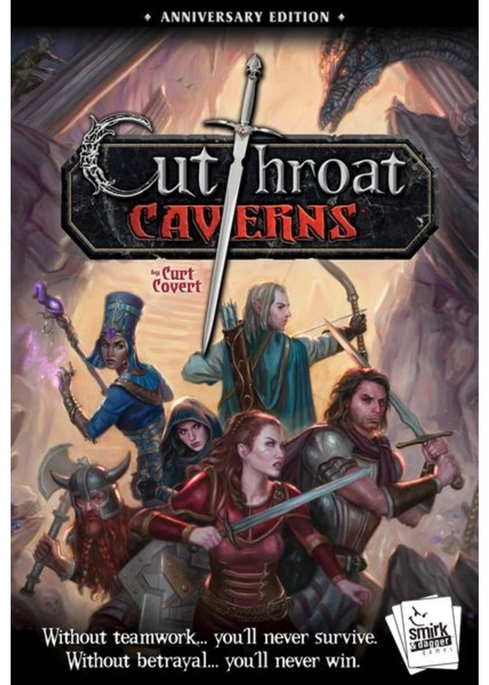 Cutthroat Caverns: Anniversary Edition