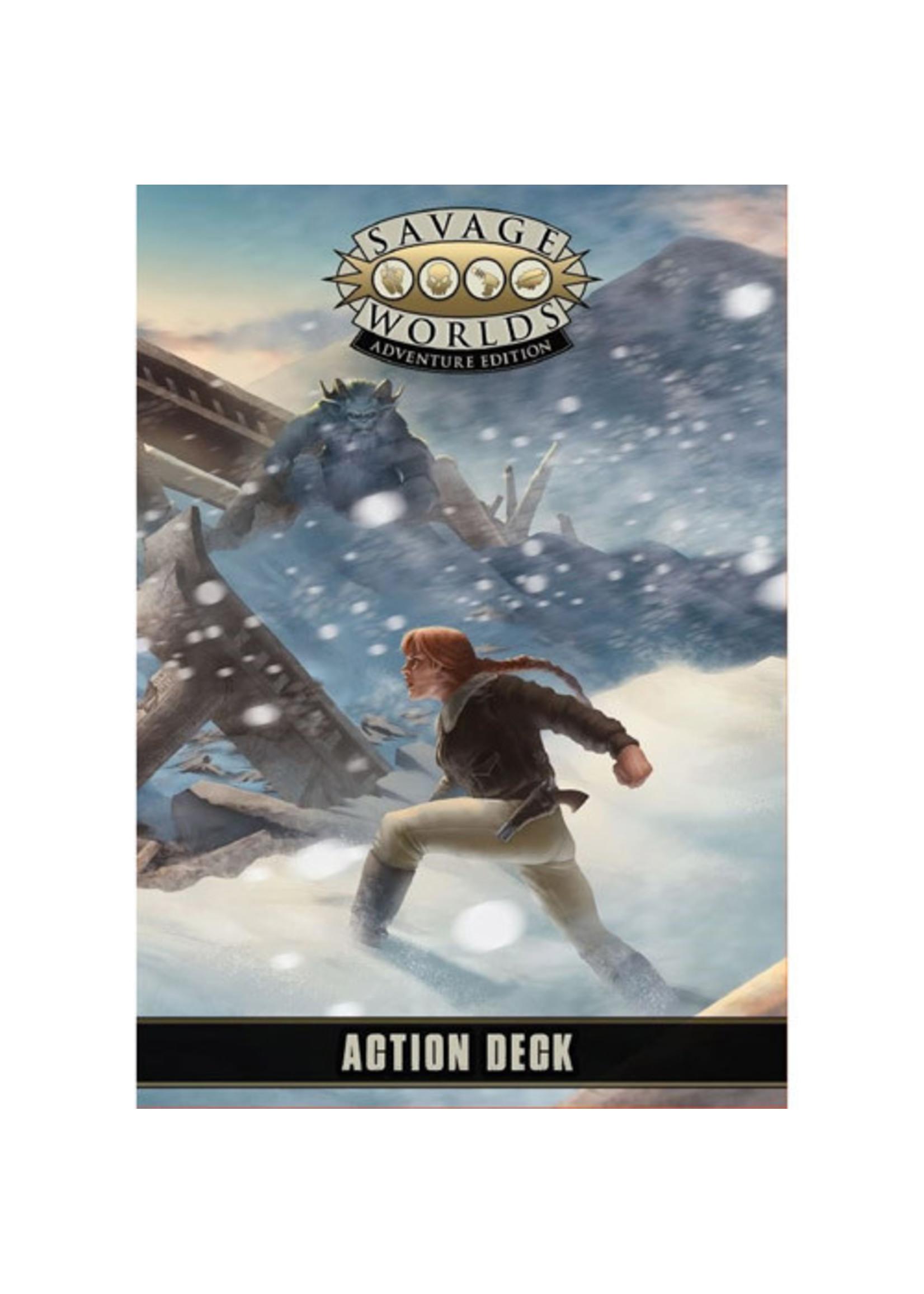 Savage Worlds RPG: Action Deck