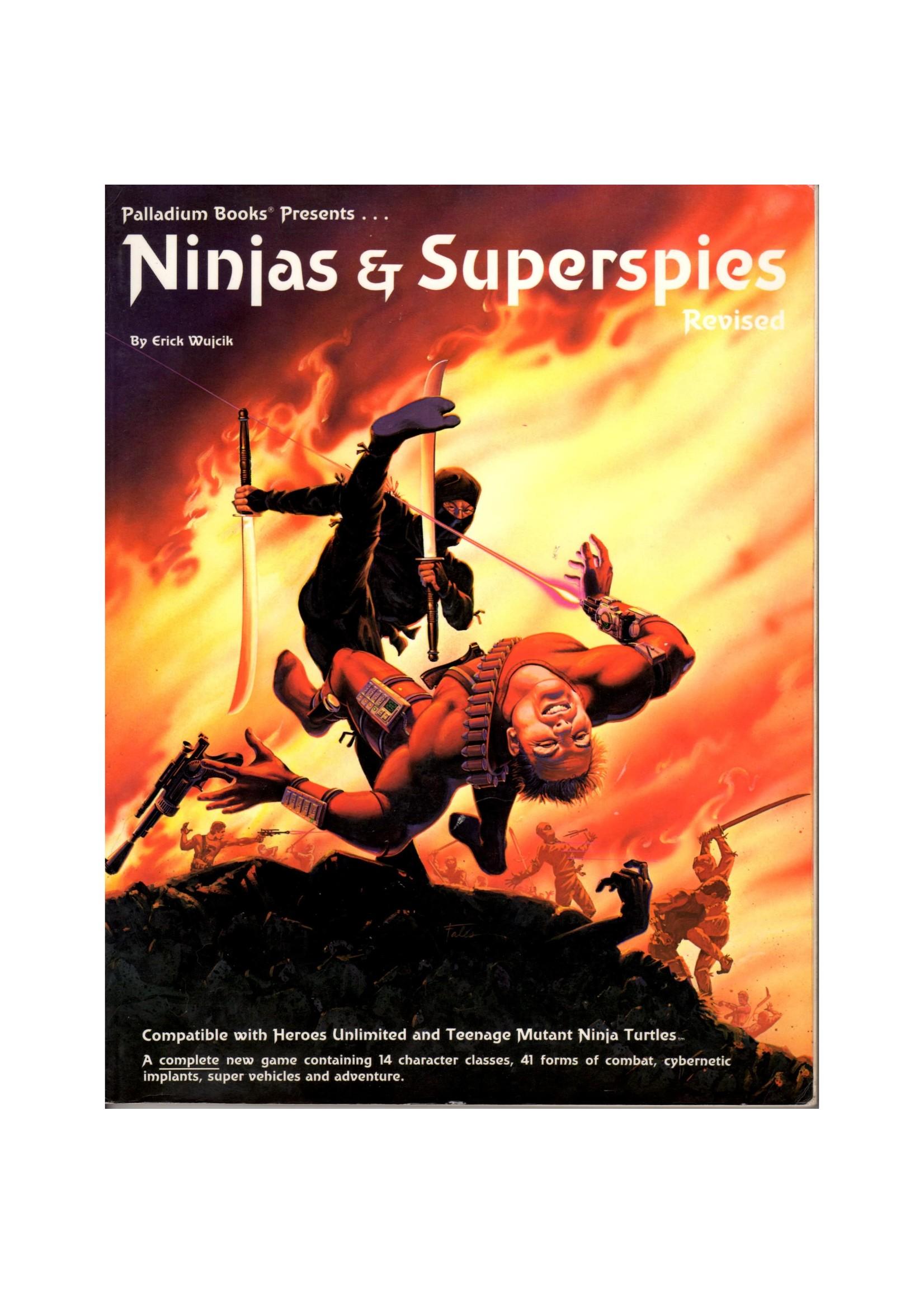 Ninjas and Superspies RPG