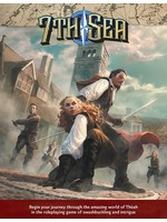 7th Sea RPG: 2nd Edition - Core Rulebook Hardcover