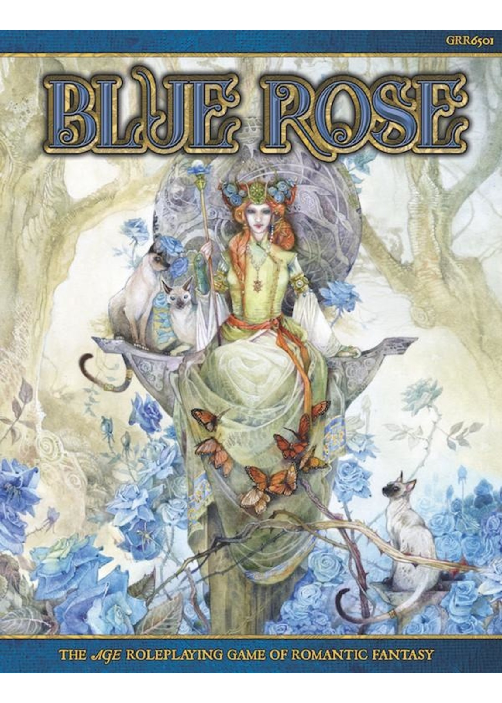 Blue Rose RPG: The AGE RPG of Romantic Fantasy (Hardcover)