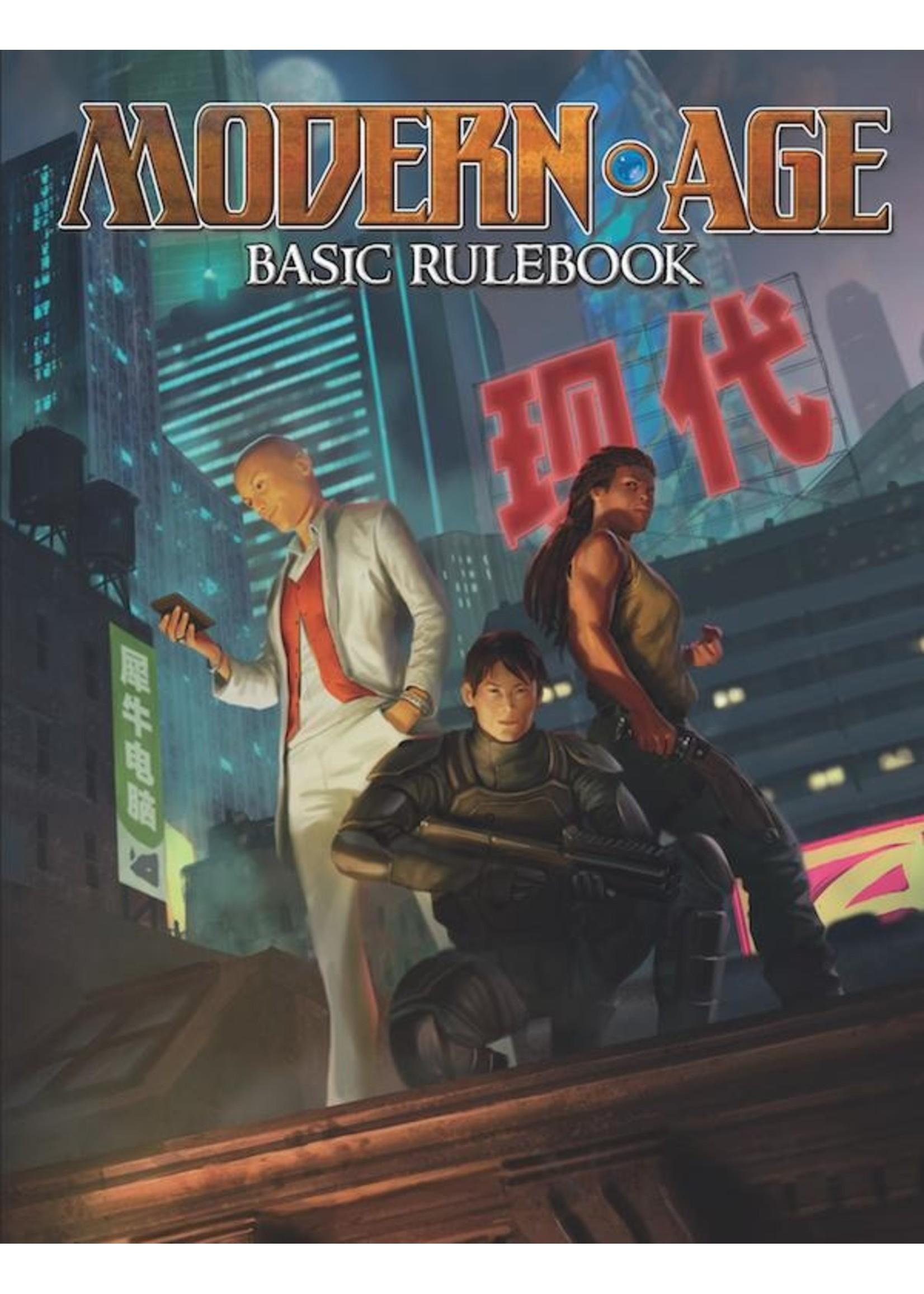 Modern AGE RPG: Basic Rulebook