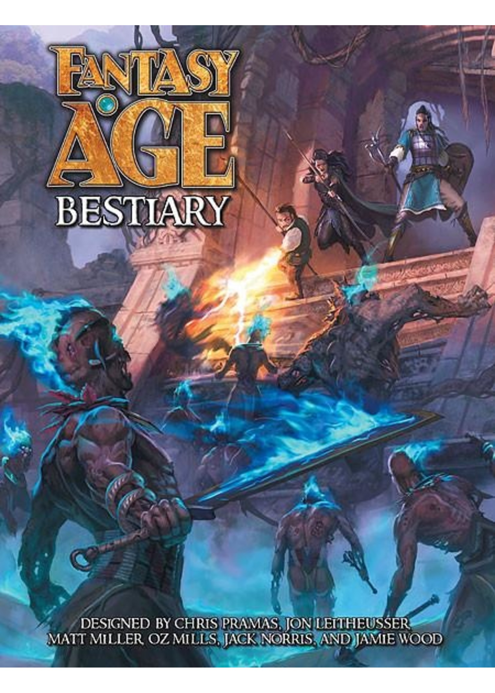Fantasy AGE RPG: Bestiary Hardcover