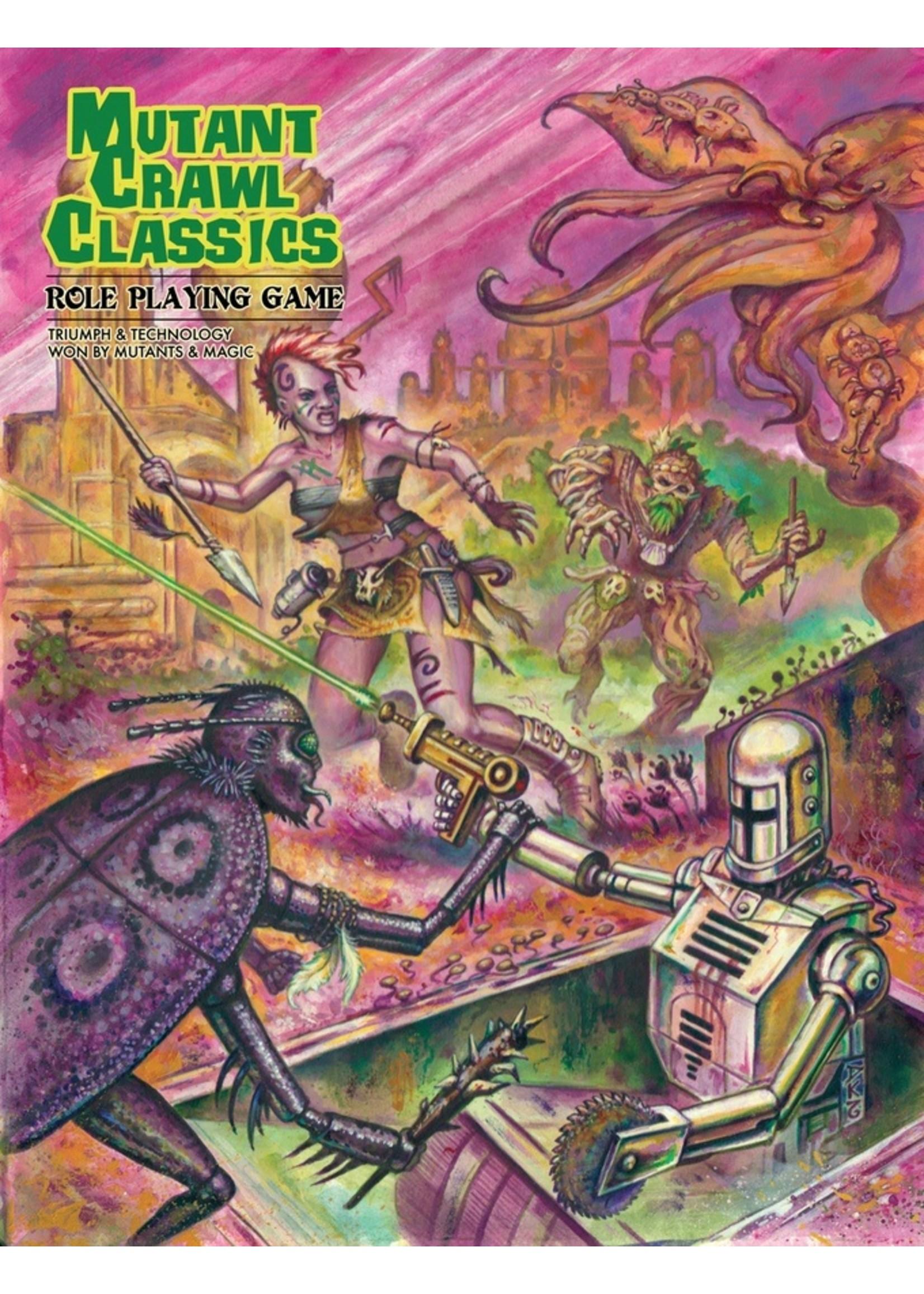 Mutant Crawl Classics RPG