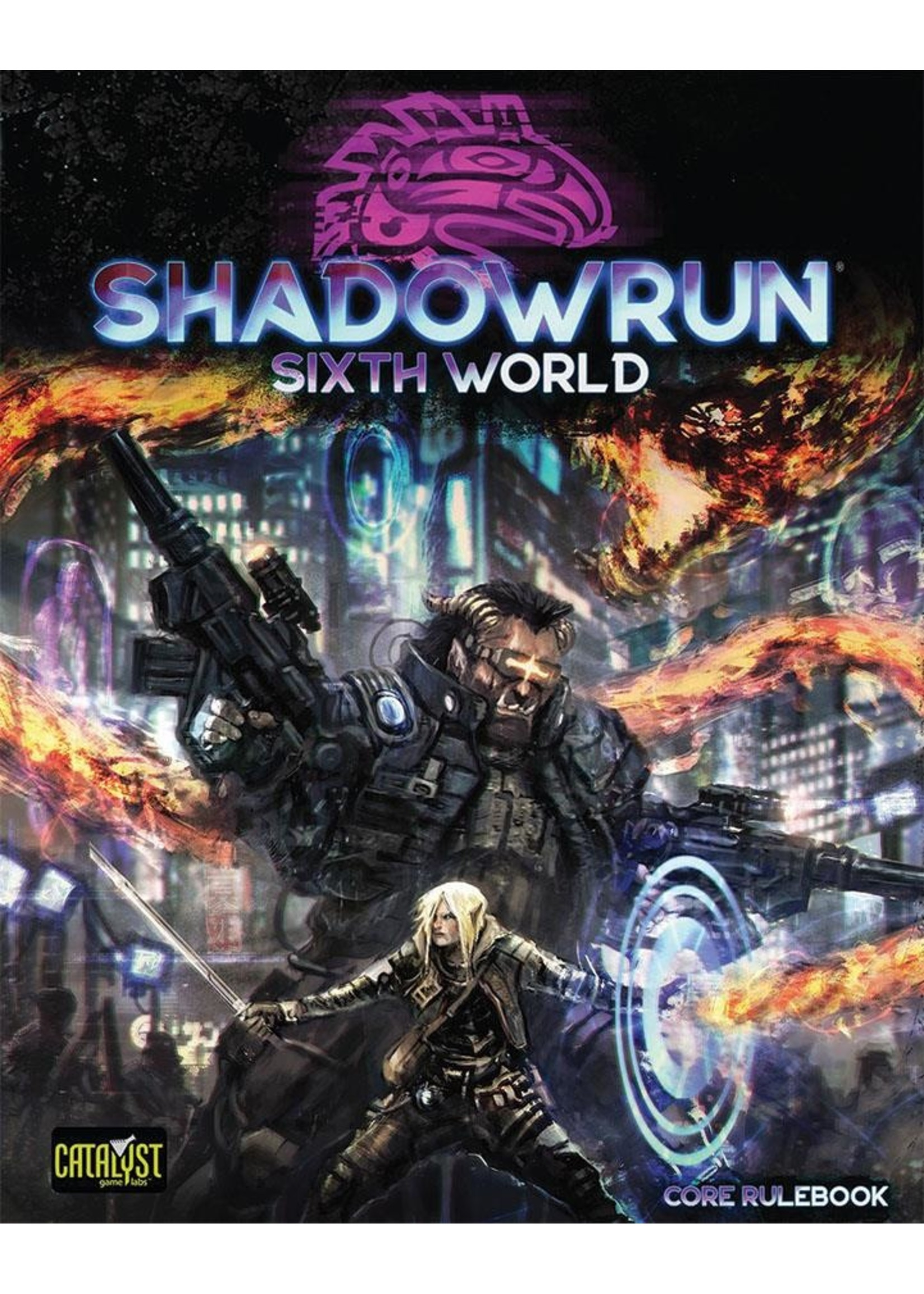Shadowrun RPG: 6th Edition Core Rulebook (Sixth World)