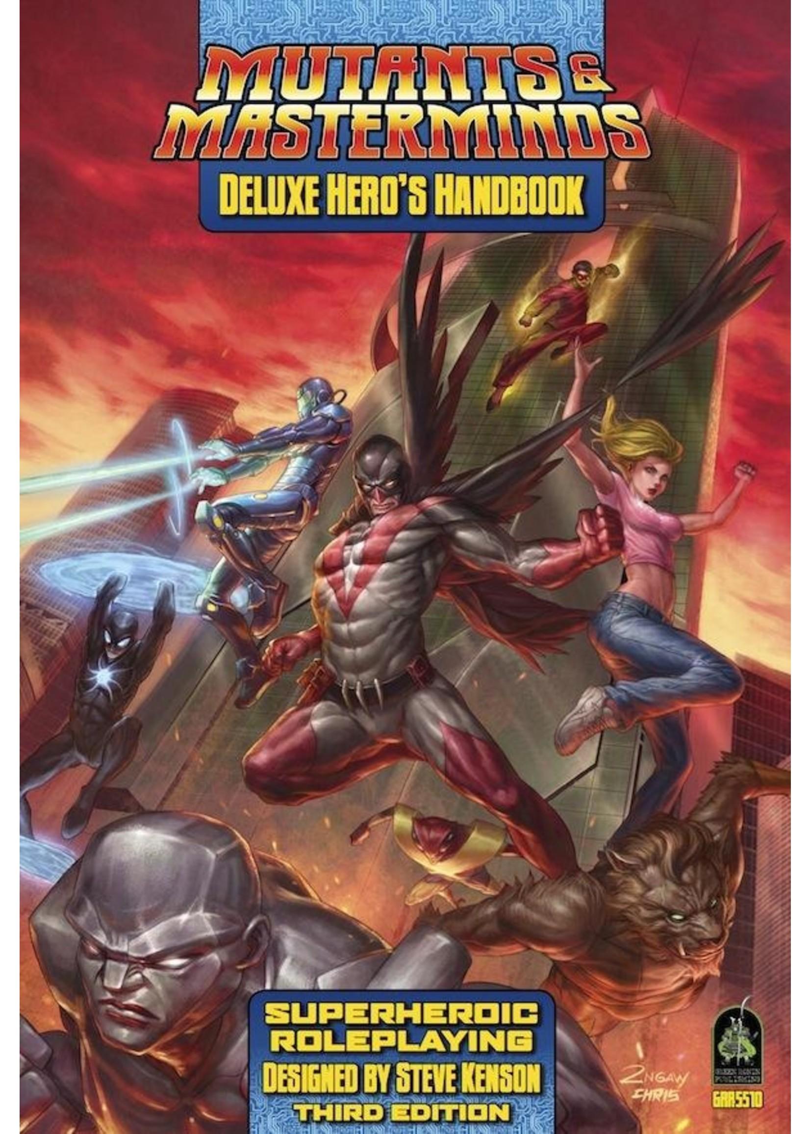 Mutants and Masterminds: Deluxe Hero's Handbook