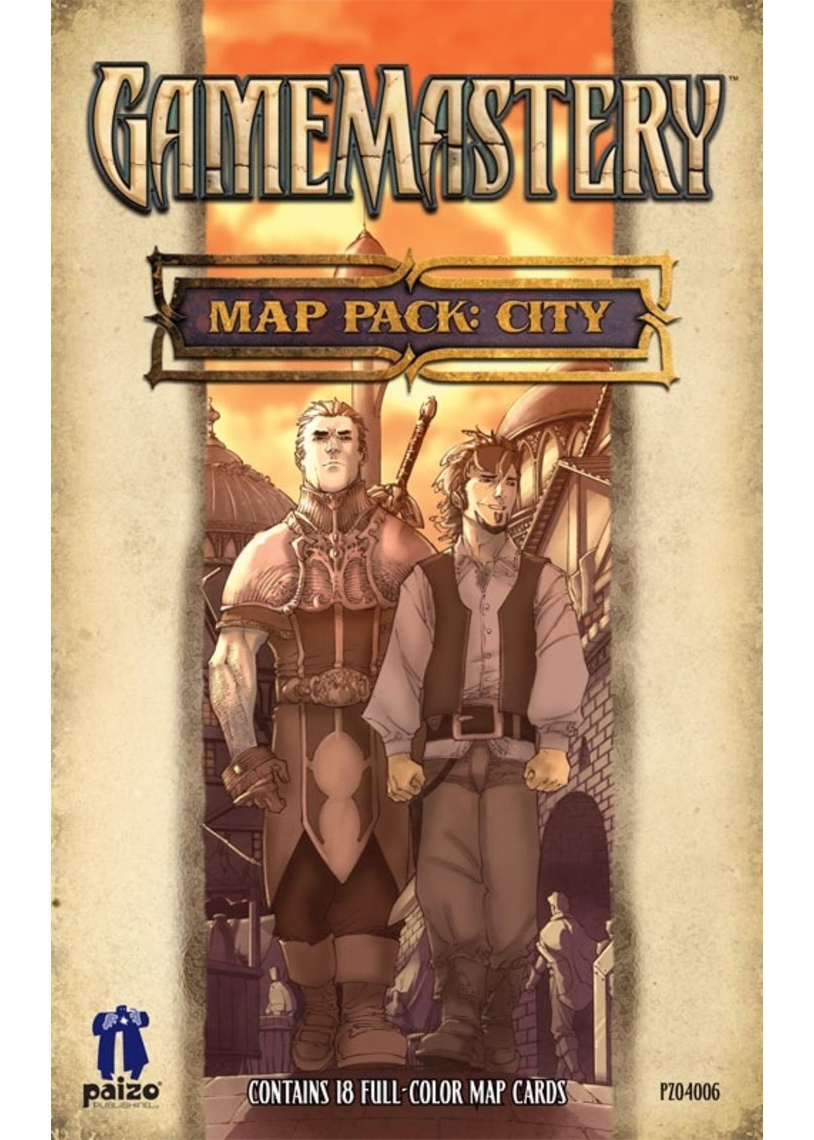 GameMastery Map Pack: City