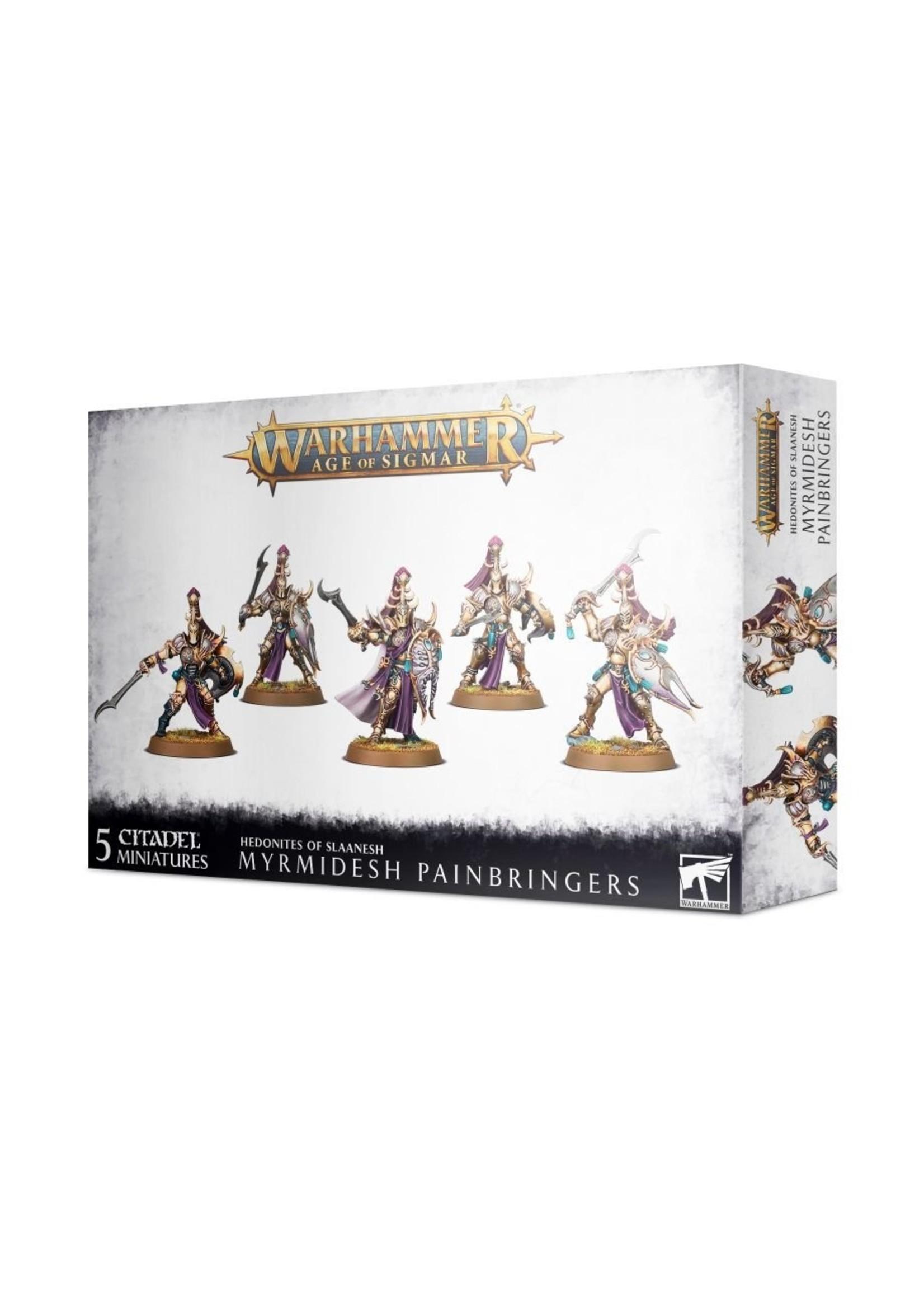 Warhammer Age of Sigmar: Hedonites - Myrmidesh Painbringers