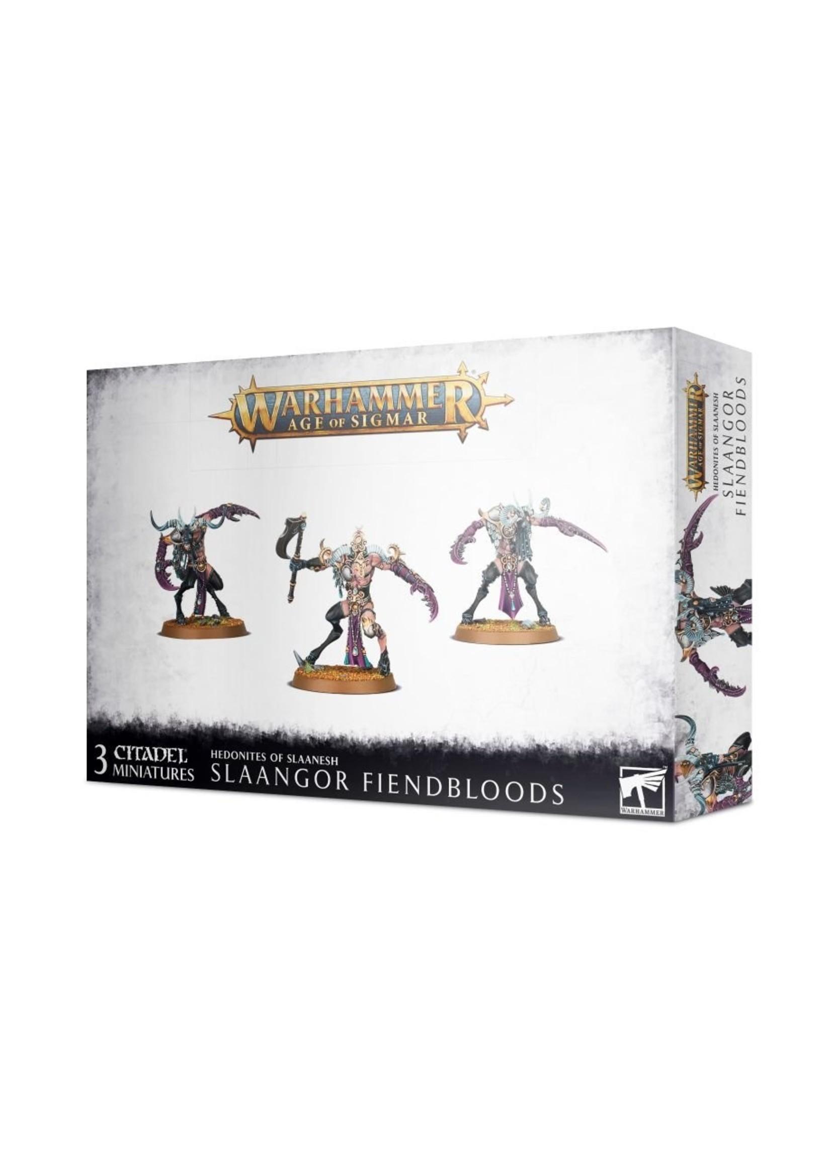 Warhammer Age of Sigmar: Hedonites - Slaangor Fiendbloods