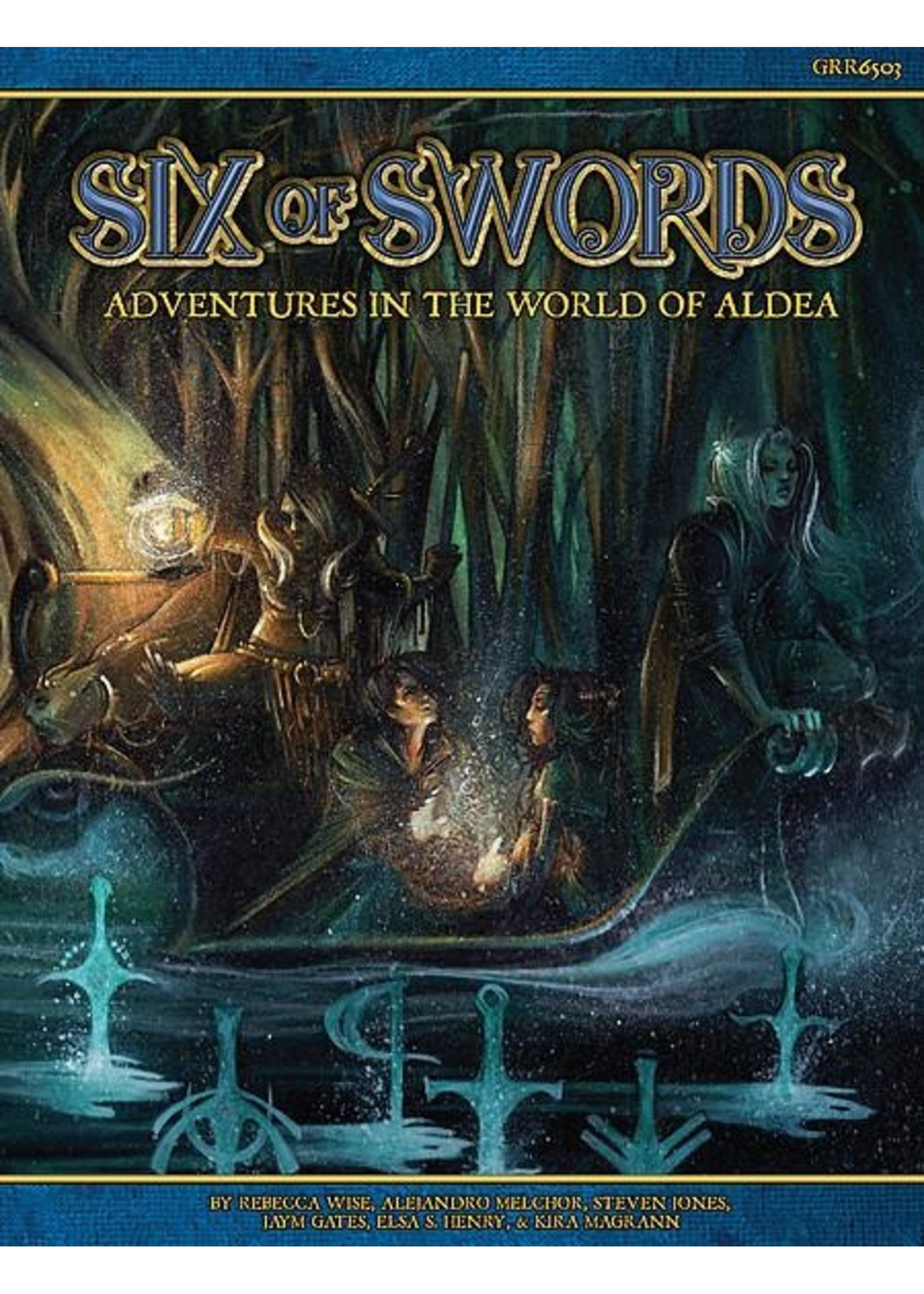Blue Rose: Six of Swords